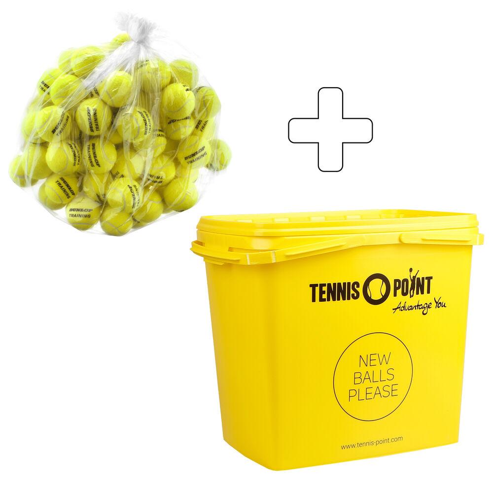 Training Sac De 60 Balles Recharge, + Seau À Balles, Sans Pression