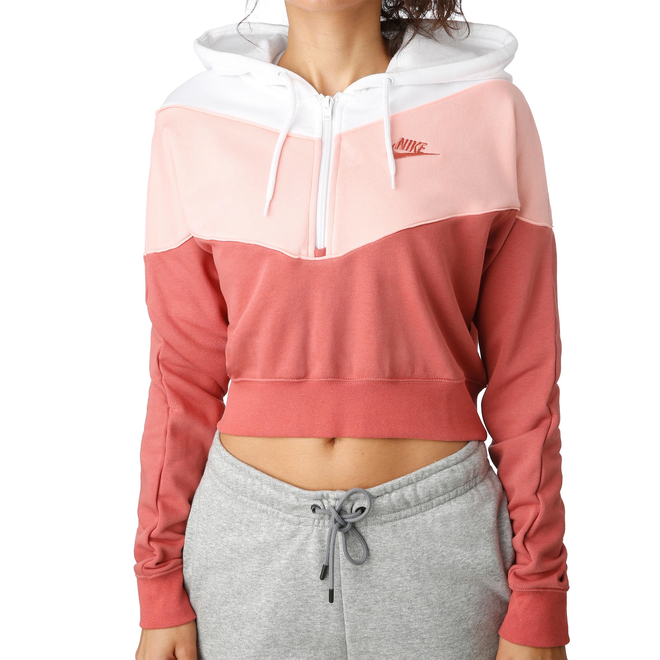 Nike Sportswear Heritage Half Zip Sweat À Capuche Femmes