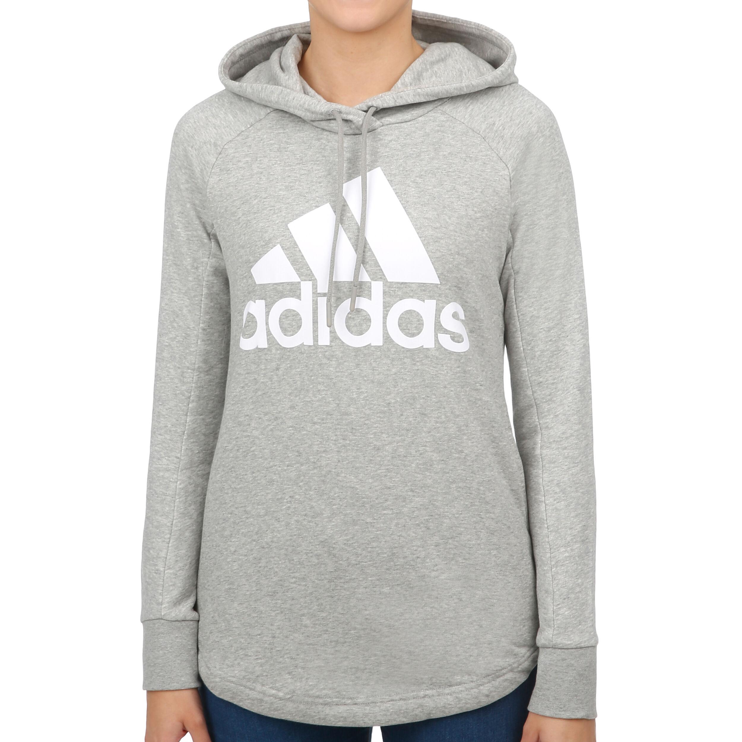 À Gris Overhead Femmes Adidas ClairBlanc Sport Sweat Capuche Id 4q3AjL5R