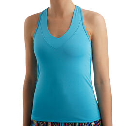 V-Neck Tank with Bra Women