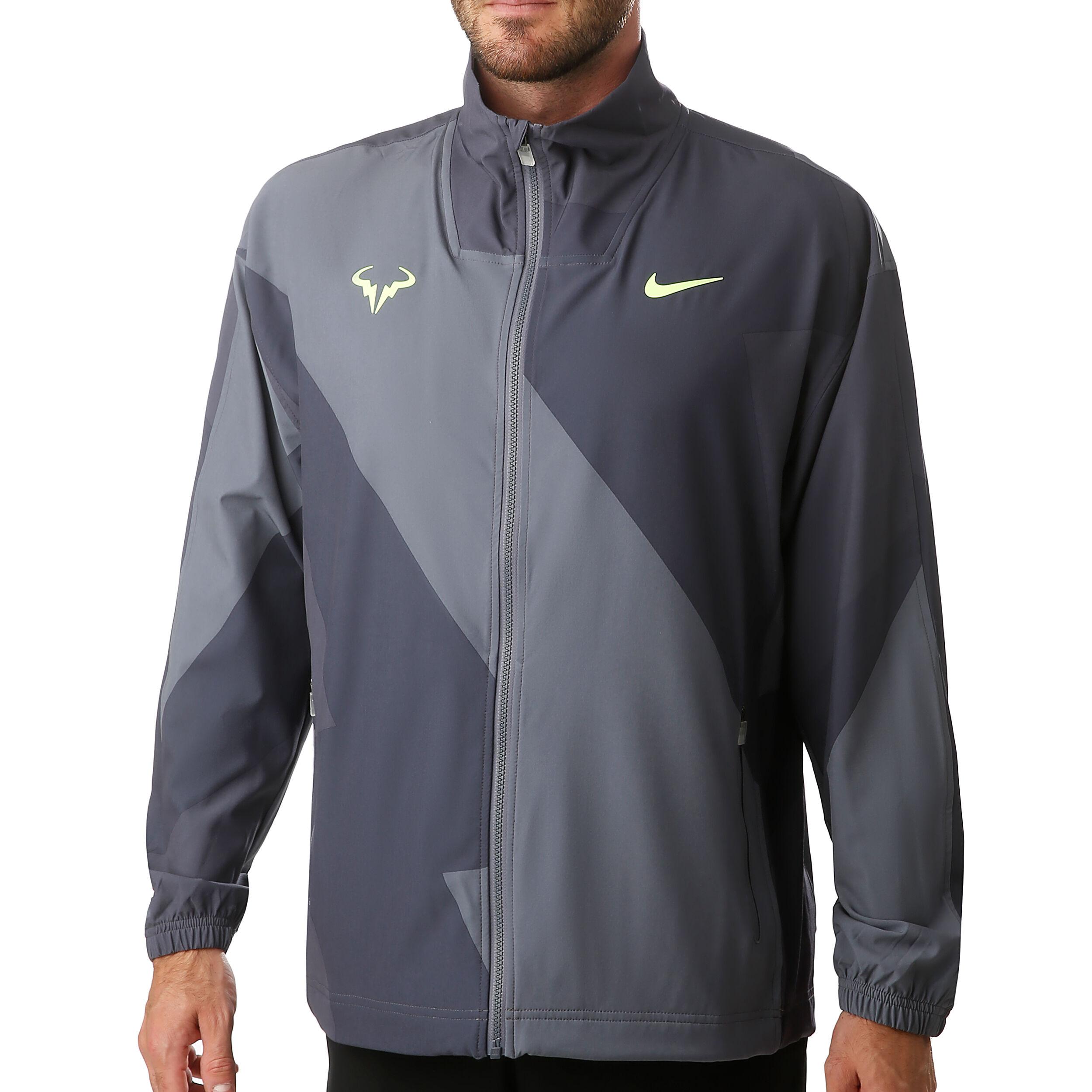 Nike Rafael Nadal Veste De Survêtement Hommes Gris Foncé