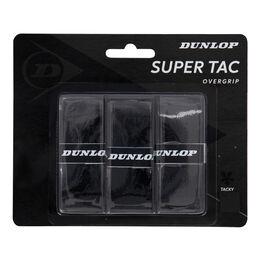 D TAC SUPER TAC OVERGRIP BLACK 3PCS