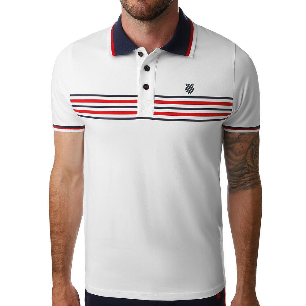 Stripe Colour Polo Hommes