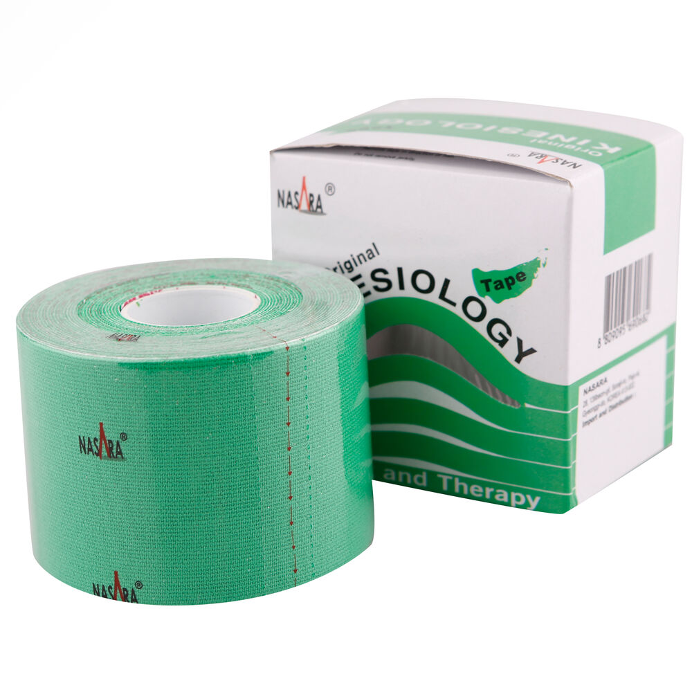 Nasara Kinesiologie Tape 1 Bobine - Vert