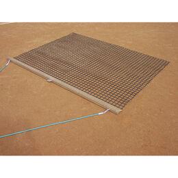 Schleppnetz, einlagig, leicht, mit Holzabziehleiste