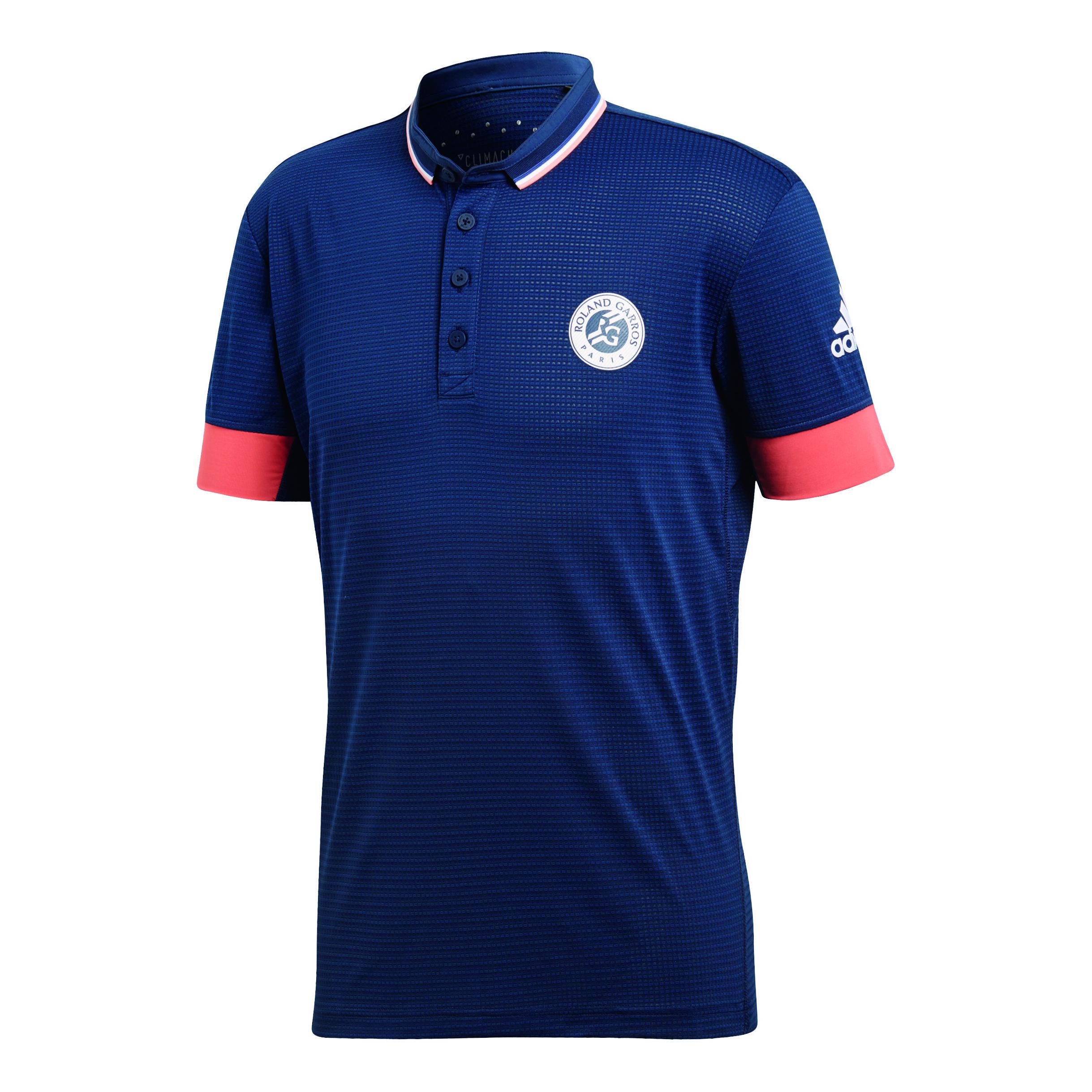 adidas Roland Garros T shirt Hommes Bleu Foncé , Bleu
