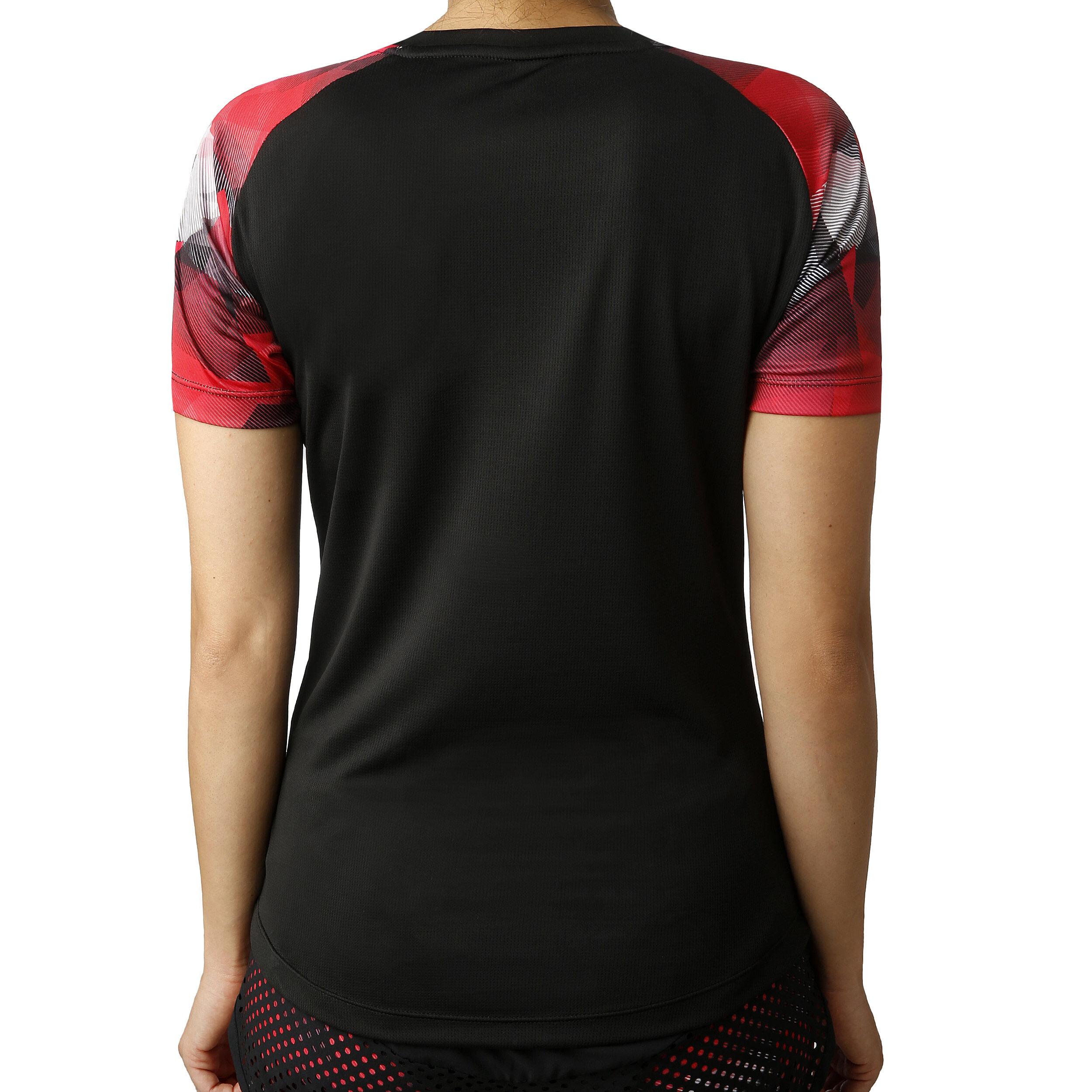 Ellesse Picanto T shirt Femmes Noir , Rouge acheter en