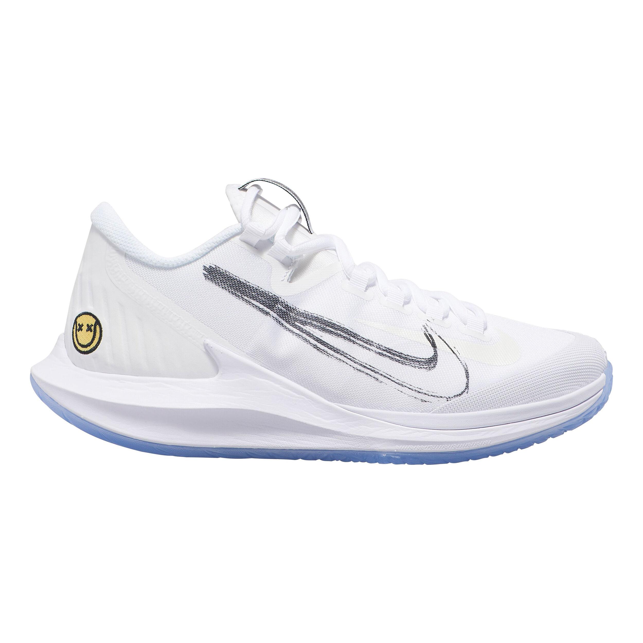 Nike Air Zoom Zero Chaussures Toutes Surfaces Femmes Blanc , Bleu Clair