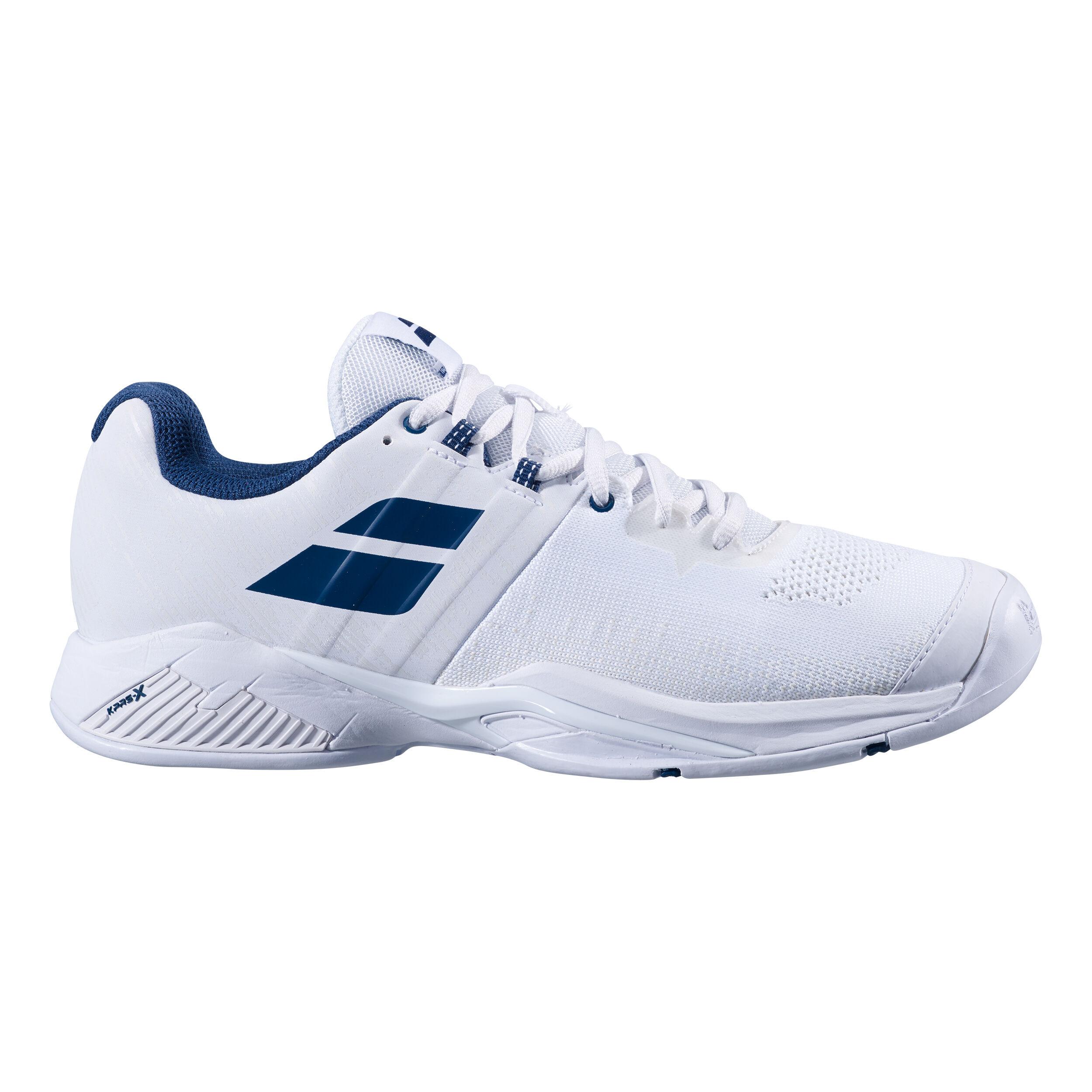UK 5,5 Blanc Babolat Pro Pulse Blast Femmes Chaussure de Tennis - EU 38,5