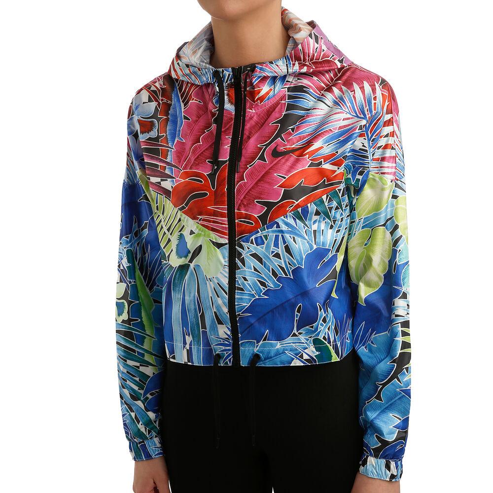 Sportswear Flower Power Woven Veste De Survêtement Femmes