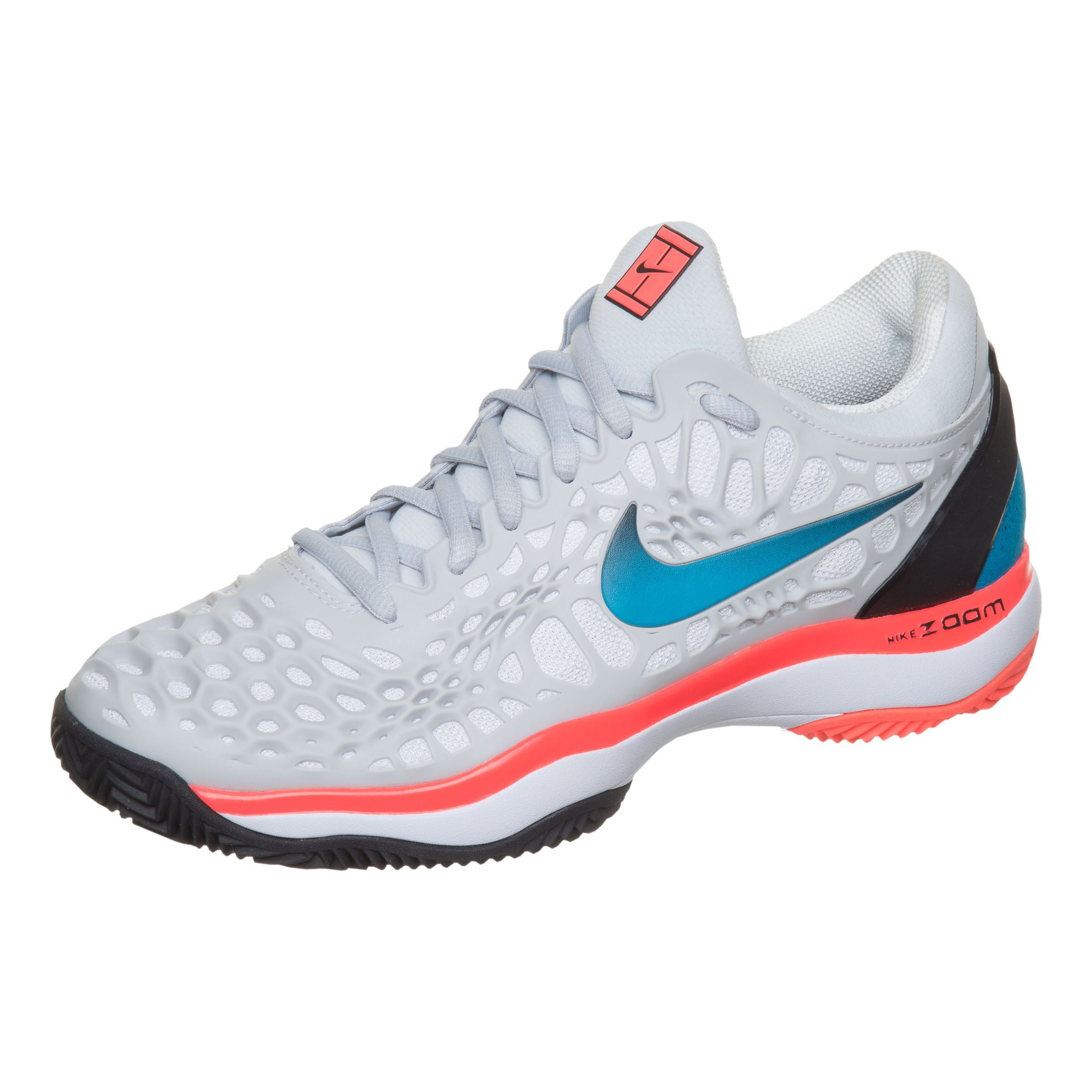 Nike Zoom Cage 3 Clay Chaussure Terre Battue Femmes Gris