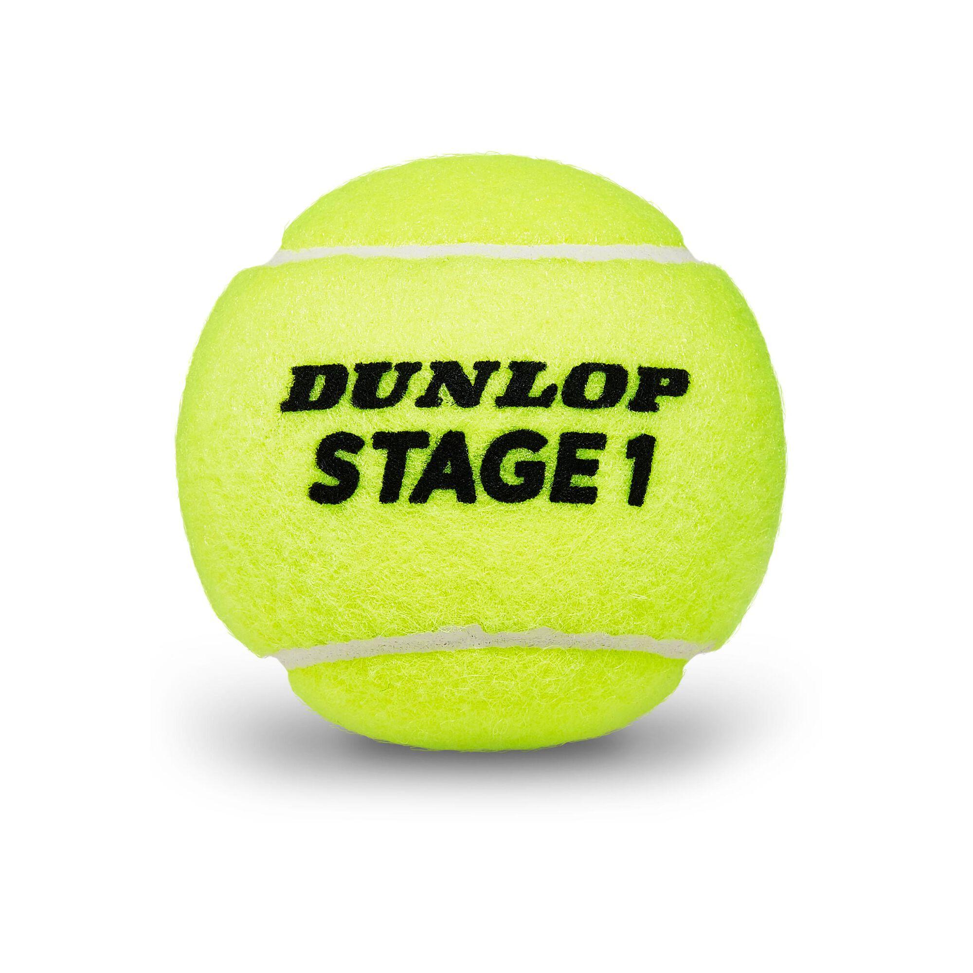 Dunlop Mini Tennis (Stage 1) Tube De 3 acheter en ligne   Tennis-Point