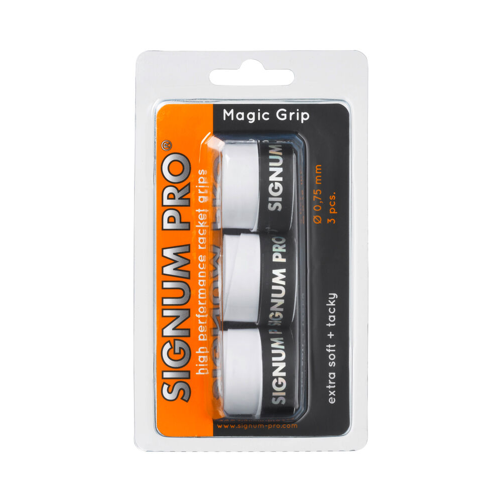 Signum Pro Magic Grip Pack De 3 - Blanc