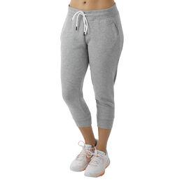 Trainings-Hose Slim Leg Fleece Crop Woman