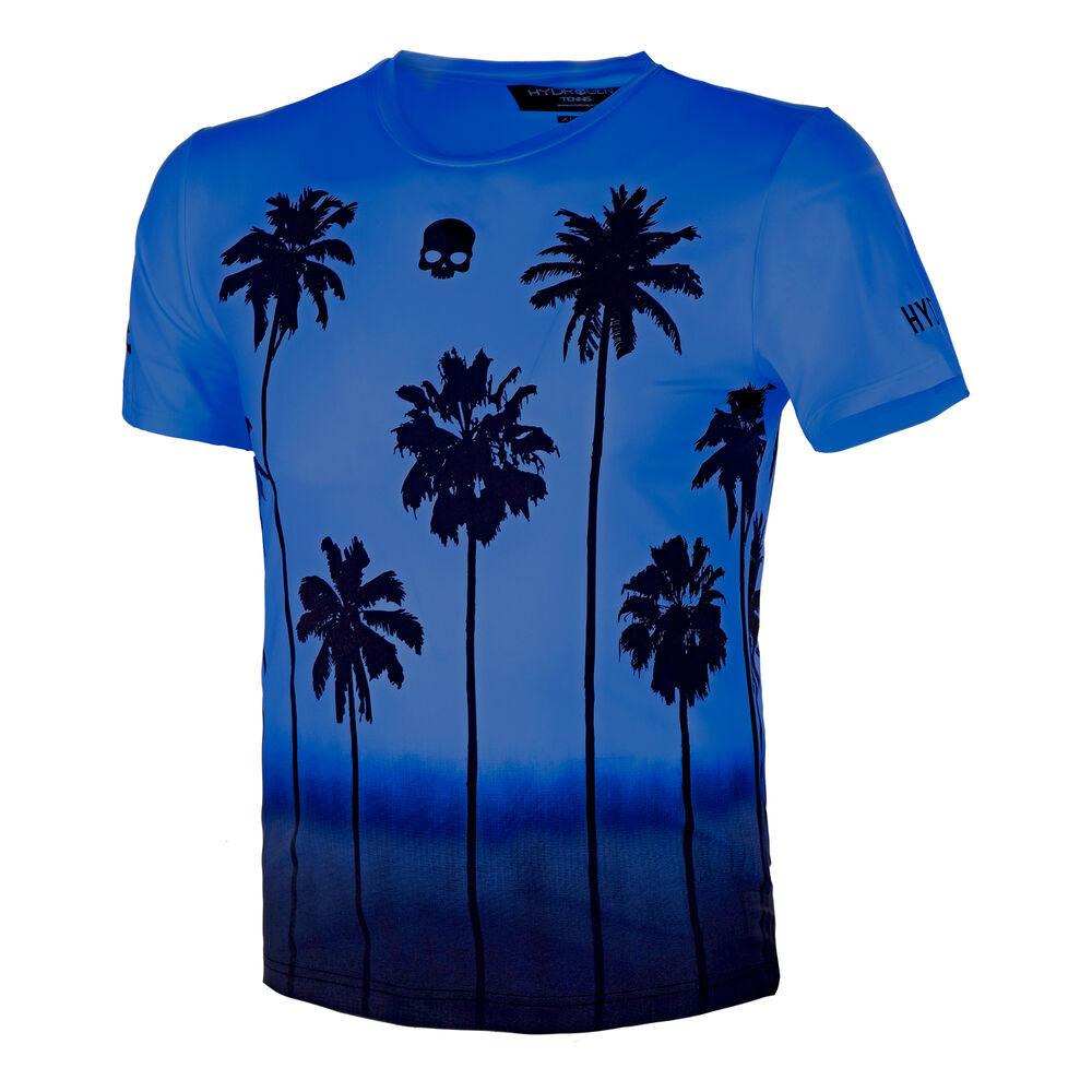 Hydrogen Tech Palm T-shirt Hommes - Bleu , Noir