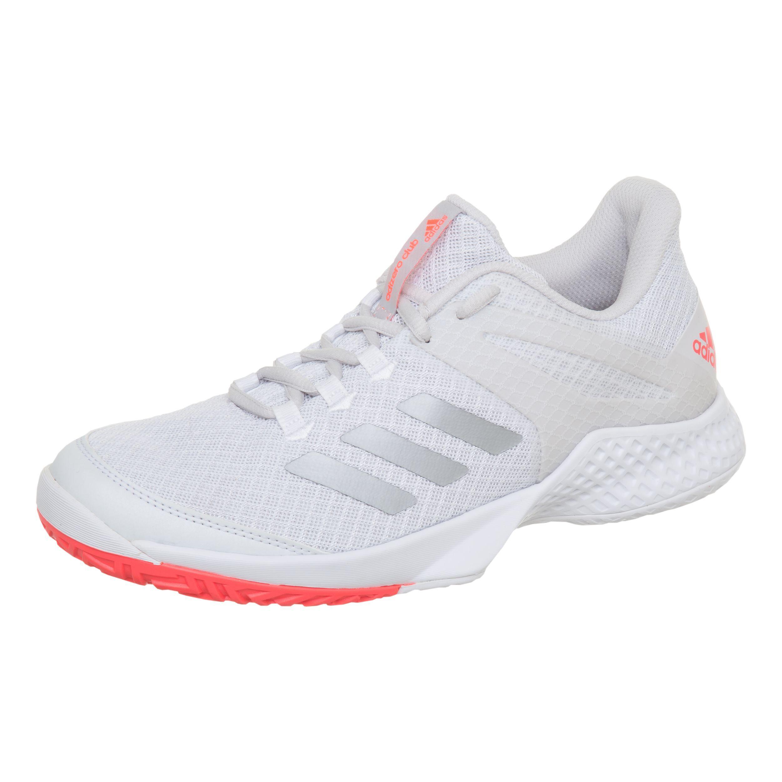 adidas Adizero Club 2 Chaussure Tout Terrain Femmes Blanc