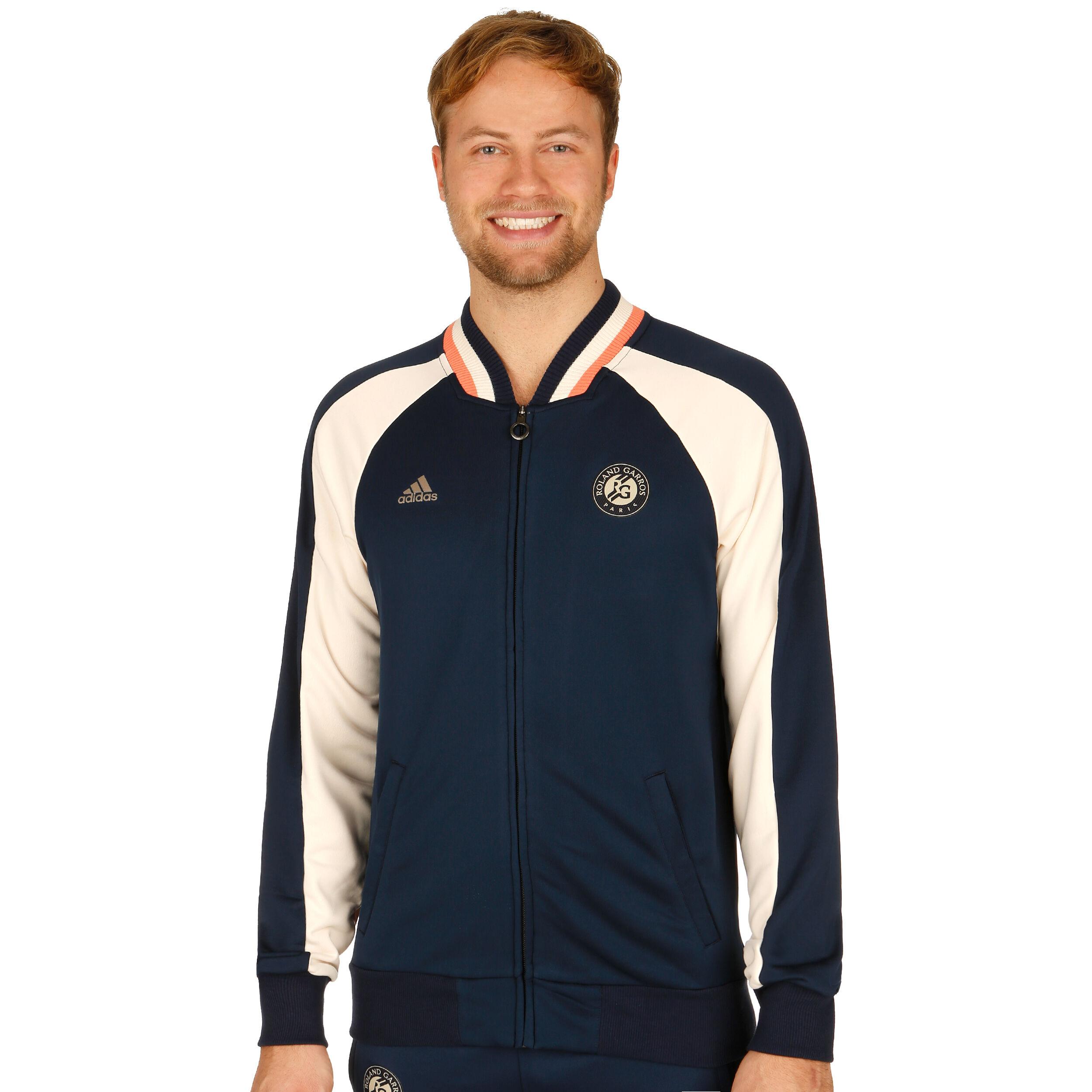 adidas Roland Garros Veste De Survêtement Hommes Bleu