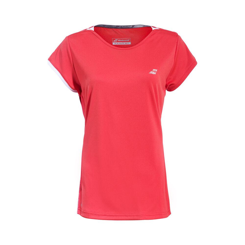 Babolat Performance Cap Sleeve T-shirt Filles - Rouge , Blanc