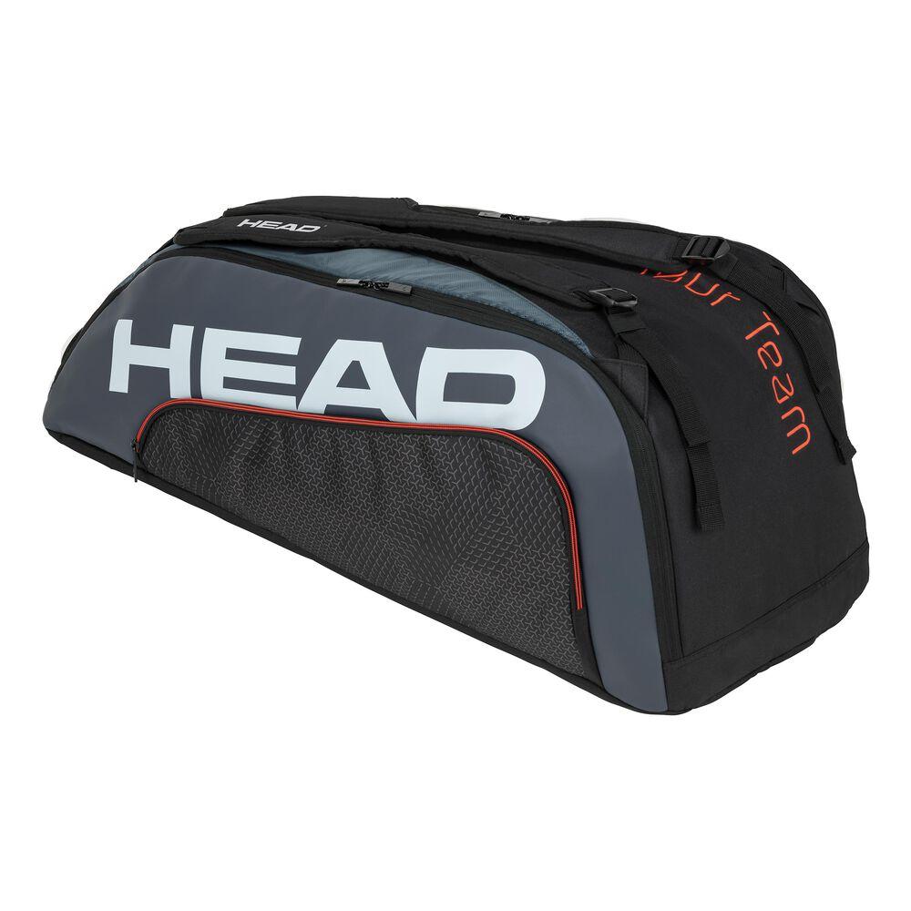 HEAD Tour Team 9R Supercombi Housse De Raquette Lot De 9 - Noir , Gris