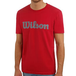 Script Cotton Tee Men