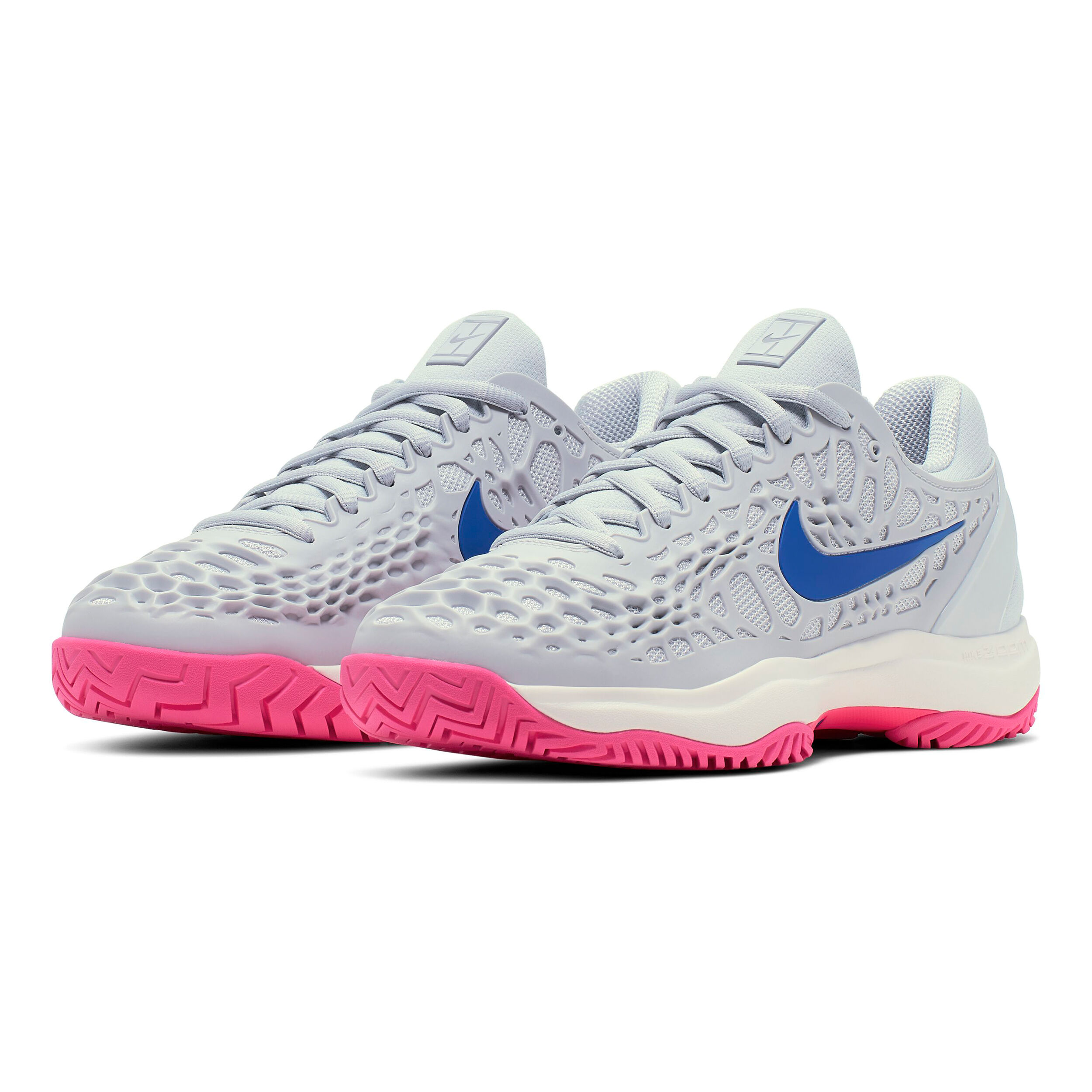 Nike Zoom Cage 3 Chaussures Toutes Surfaces Femmes Gris