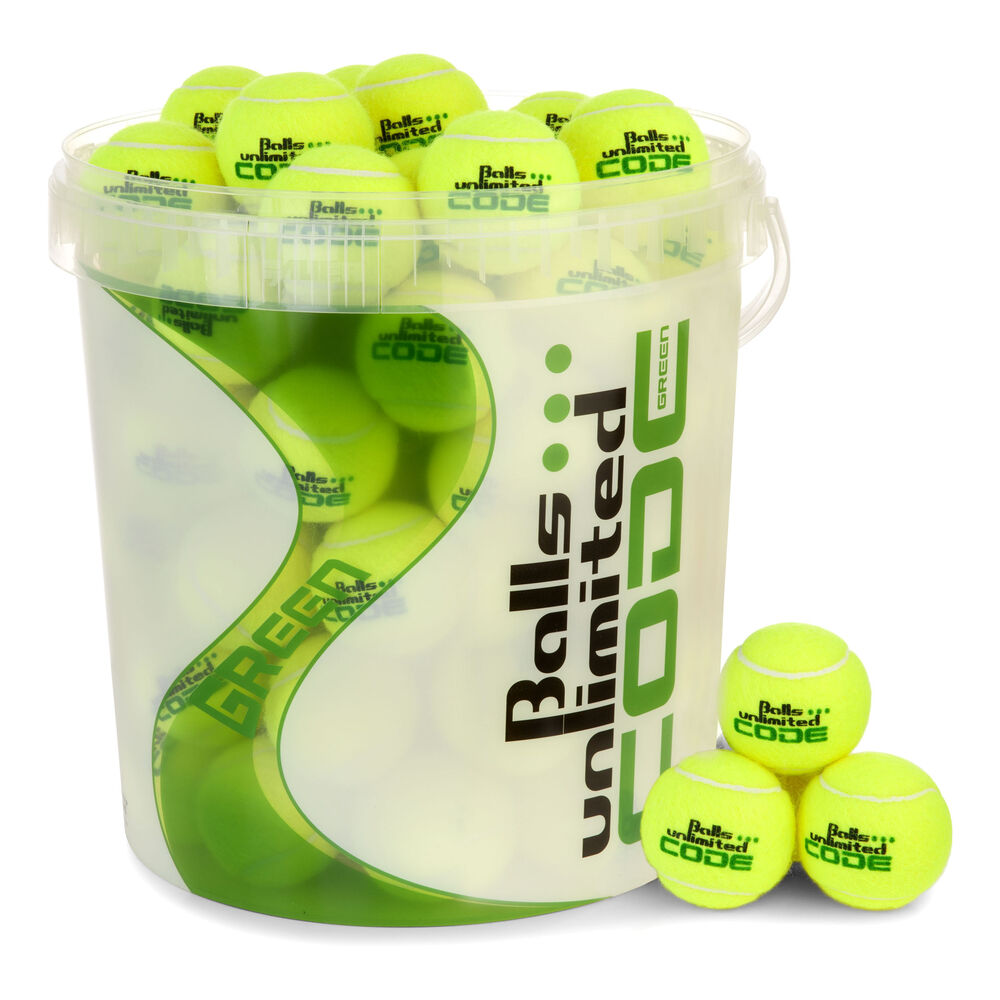 Code Green Sac De 60 Balles + Seau À Balles