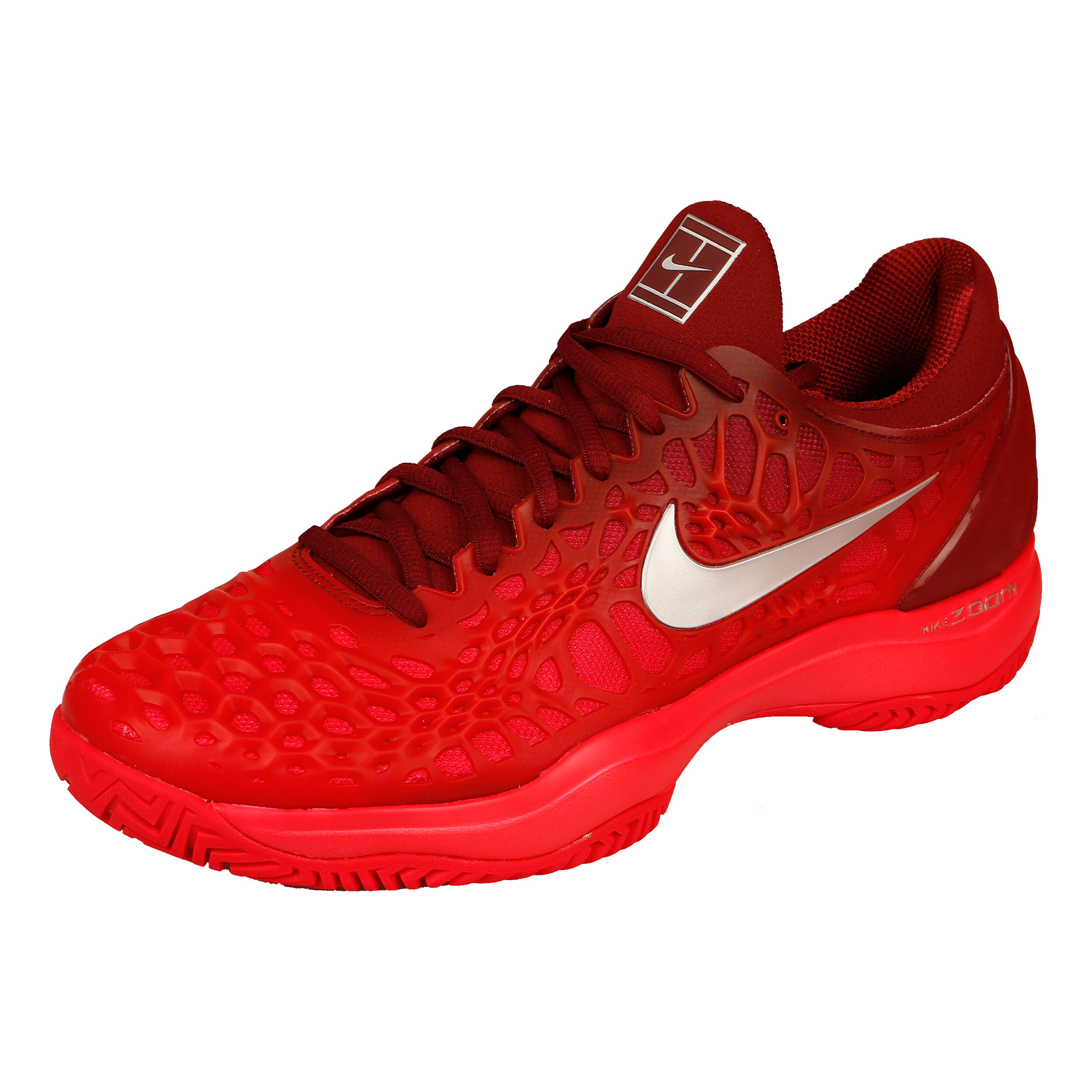 Nike Zoom Cage 3 Chaussures Toutes Surfaces Hommes Rouge