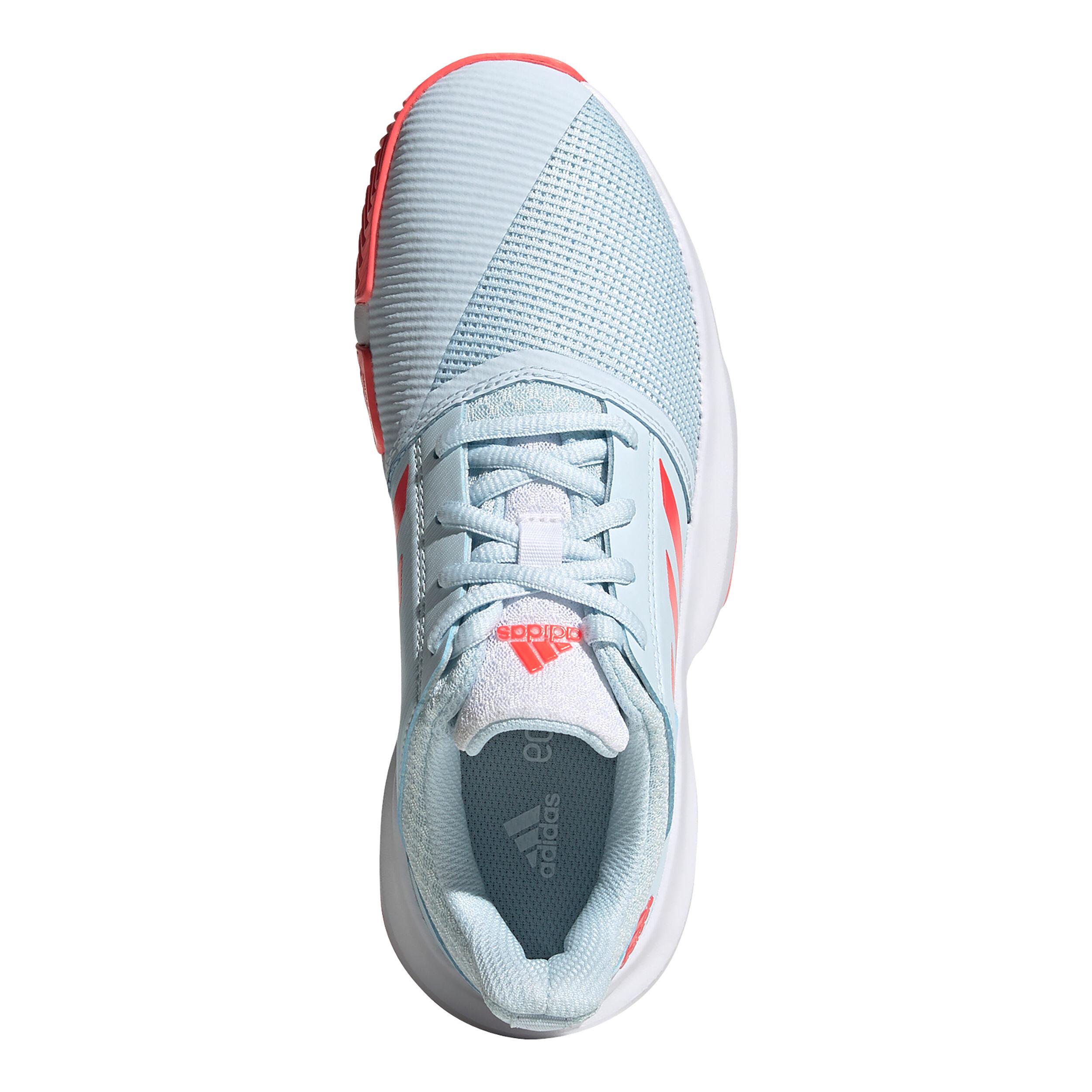 adidas Courtjam Xj Chaussures Toutes Surfaces Enfants Bleu