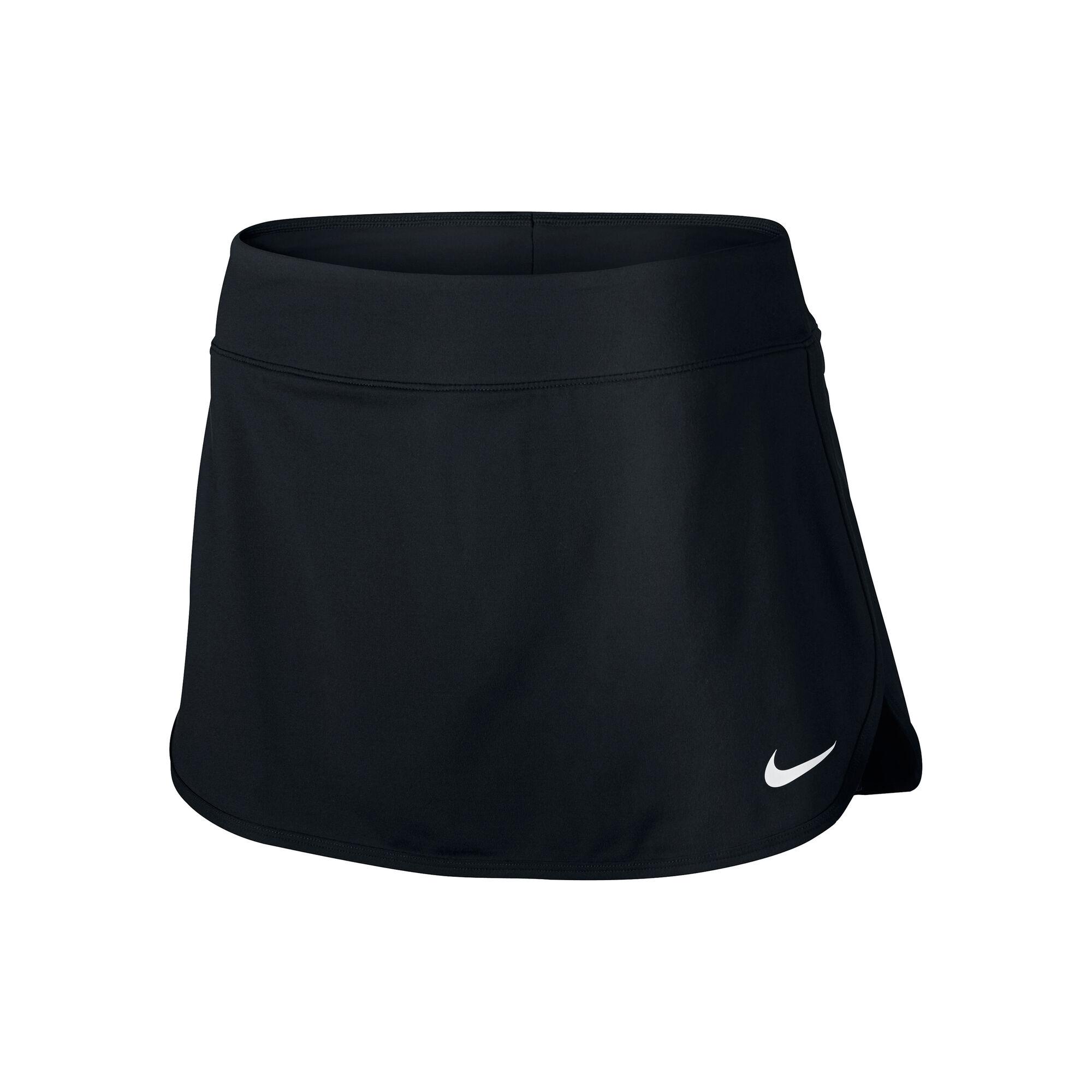 3a31c90995ad4 Nike Court Pure Jupe Femmes - Noir , Blanc acheter en ligne | Tennis ...