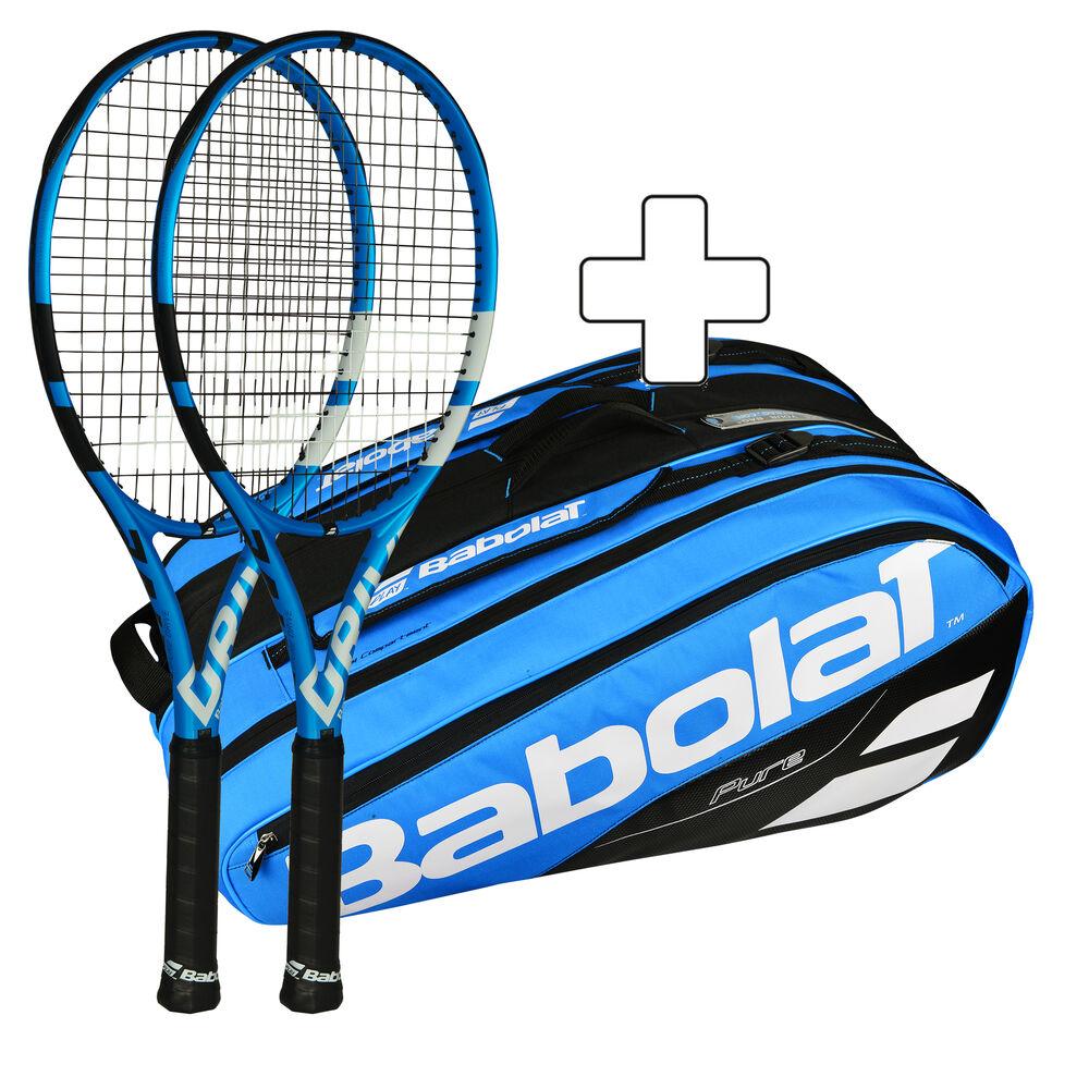Babolat 2x Pure Drive + Sac De Tennis