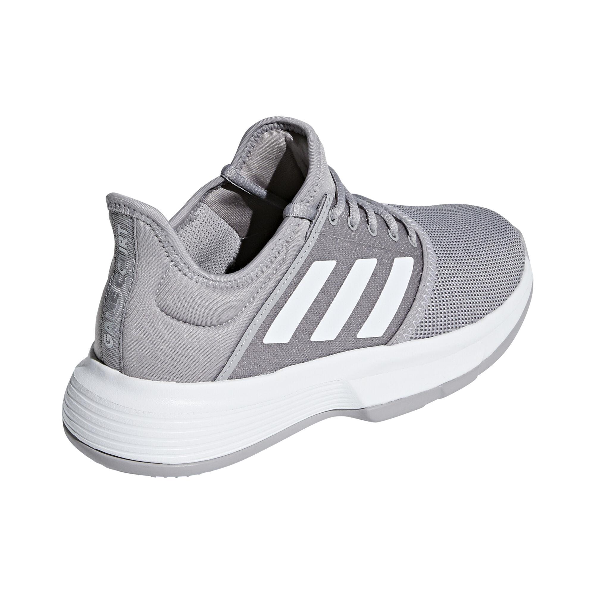 d1991dc769f1b adidas Game Court Chaussure Tout Terrain Femmes - Gris Clair , Gris ...