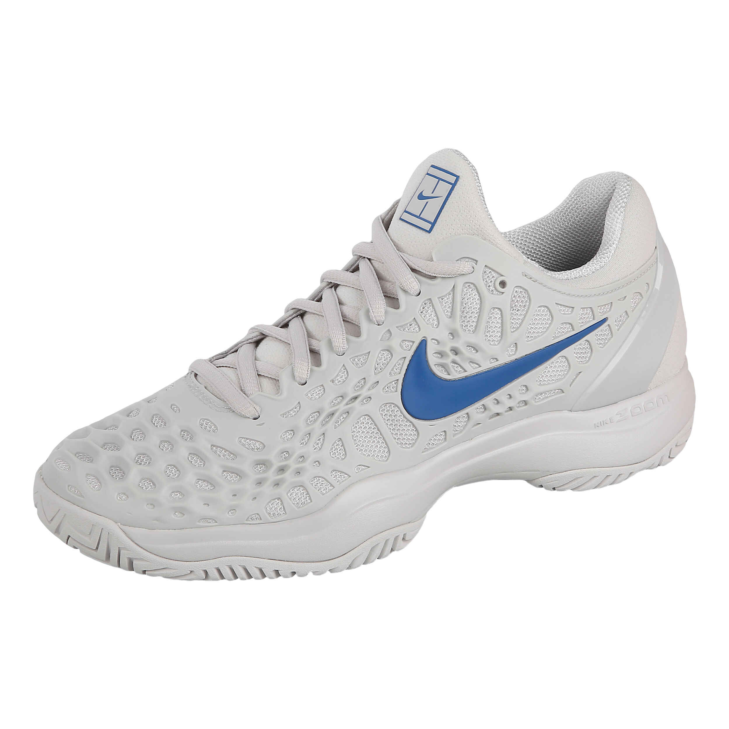 Chaussure Nike Terrain Cage Tout ClairBlanc Zoom Gris 3 Hommes 6fIY7bygv