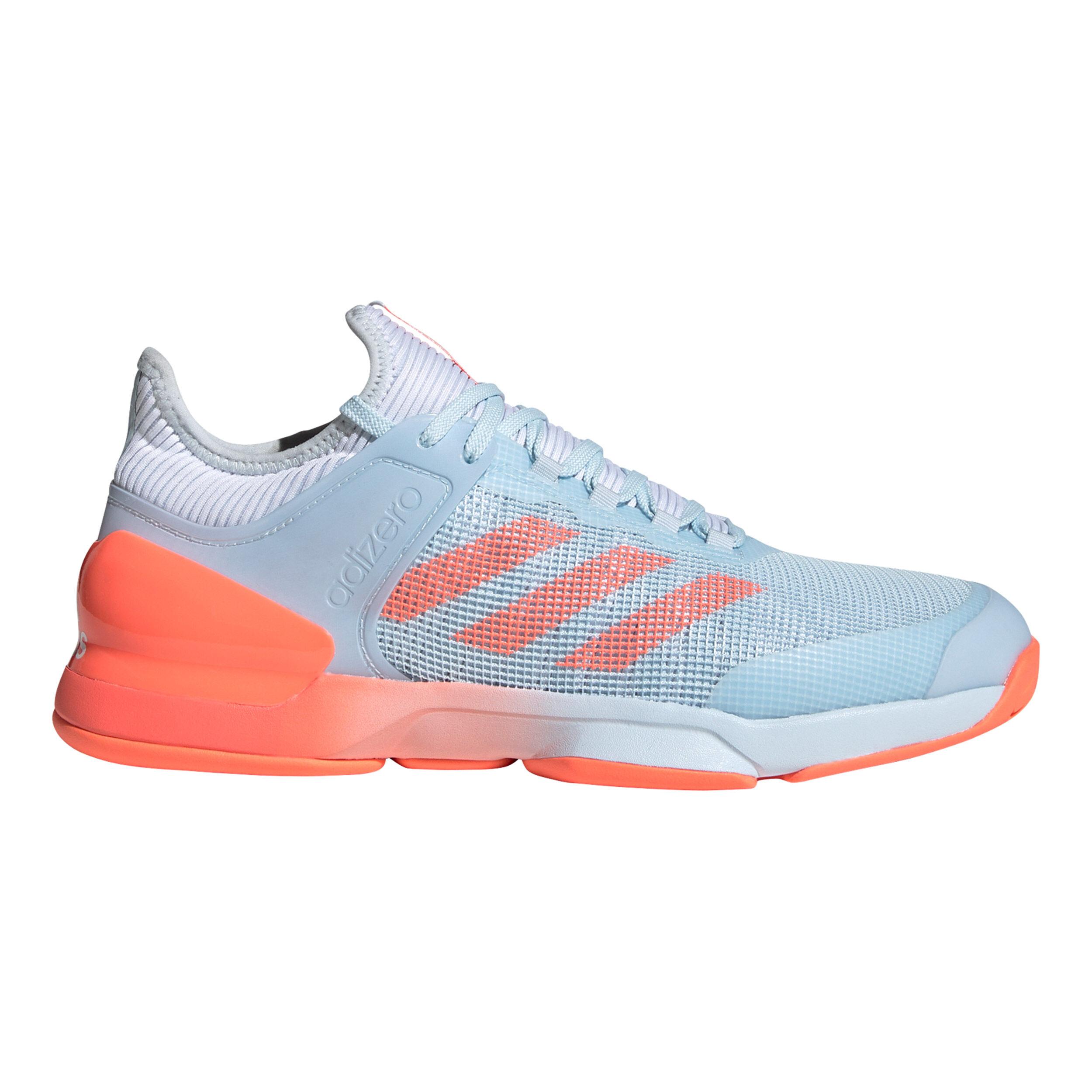 Adizero Ubersonic 2 Chaussures Toutes Surfaces Hommes Bleu Clair , C