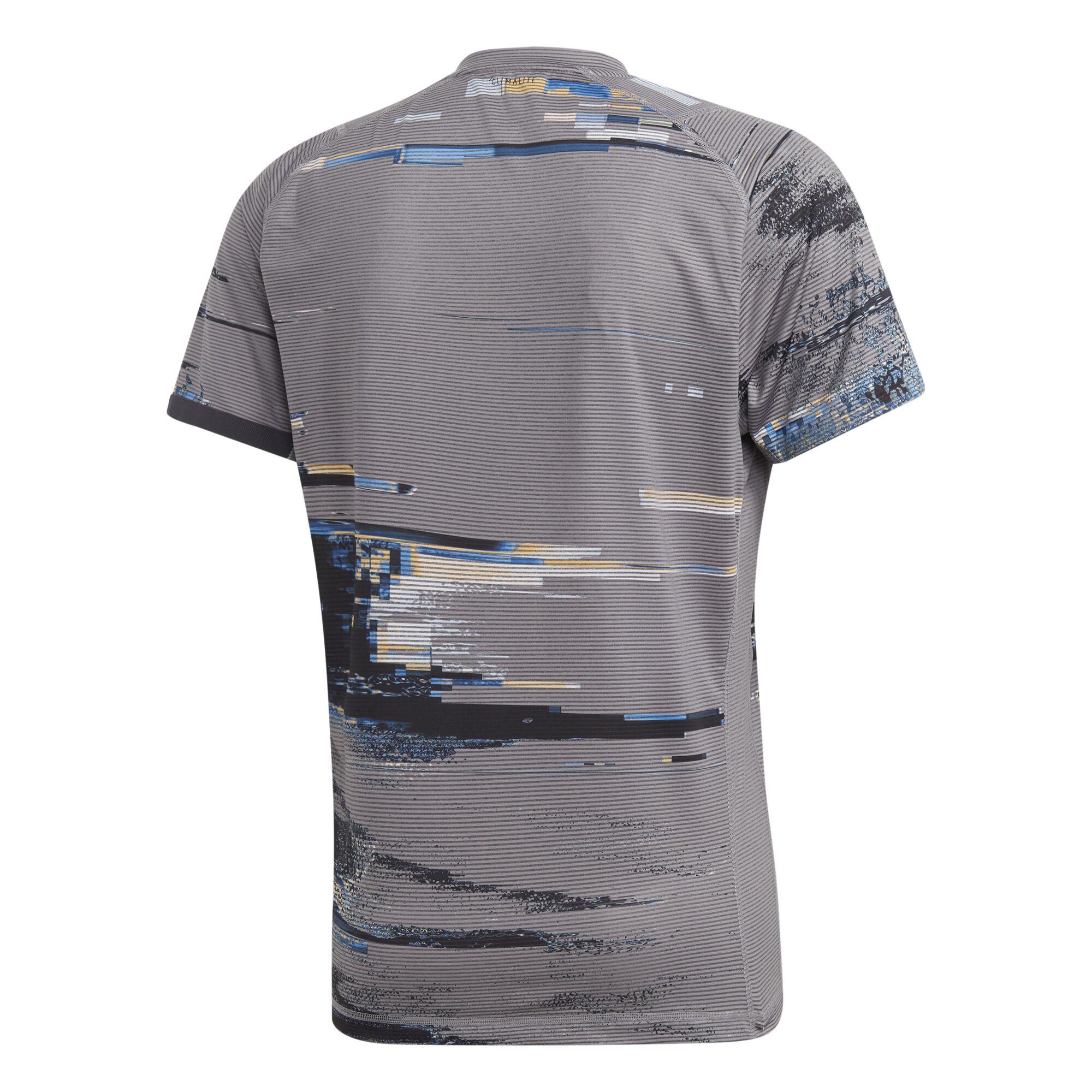 adidas New York Printed T shirt Hommes Gris , Noir acheter