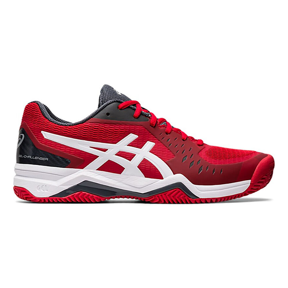 Asics Gel-Challenger 12 Clay Chaussure Terre Battue Hommes - Rouge ...