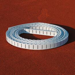 Ersatz Spannlinie Ideala, Aufschlaglinie, 8,23 m lang, 4cm breit