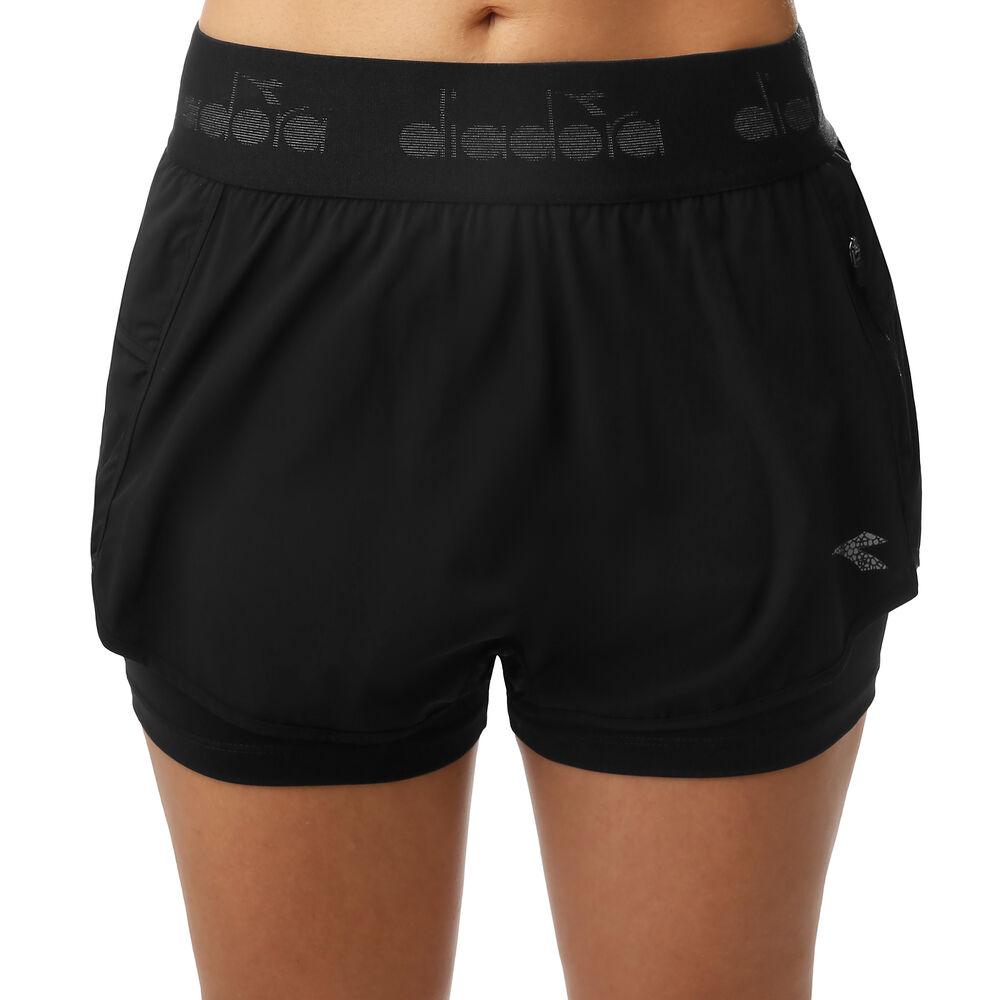 Double Layer Shorts Femmes