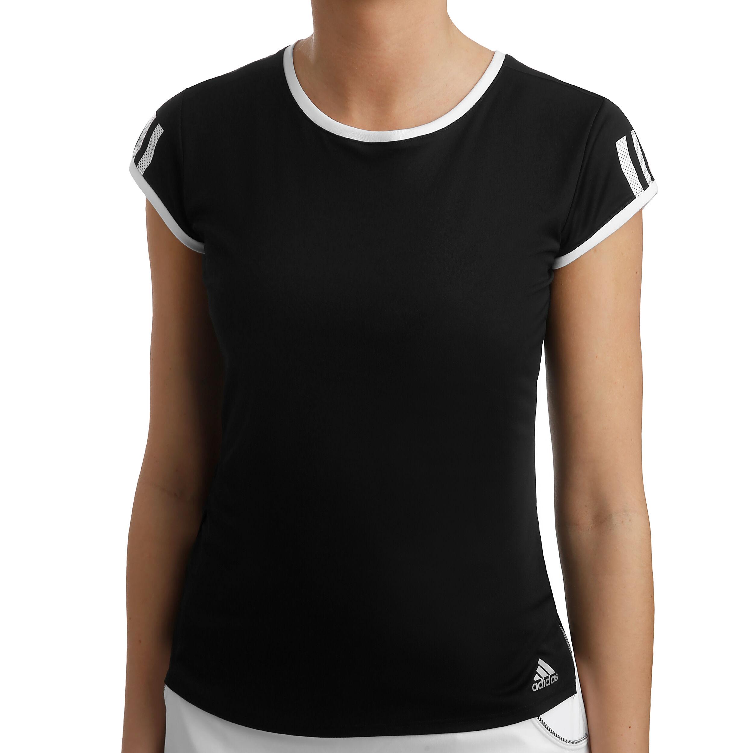 T shirt De Tennis Femme Club 3 Stripes BLANC ADIDAS | INTERSPORT