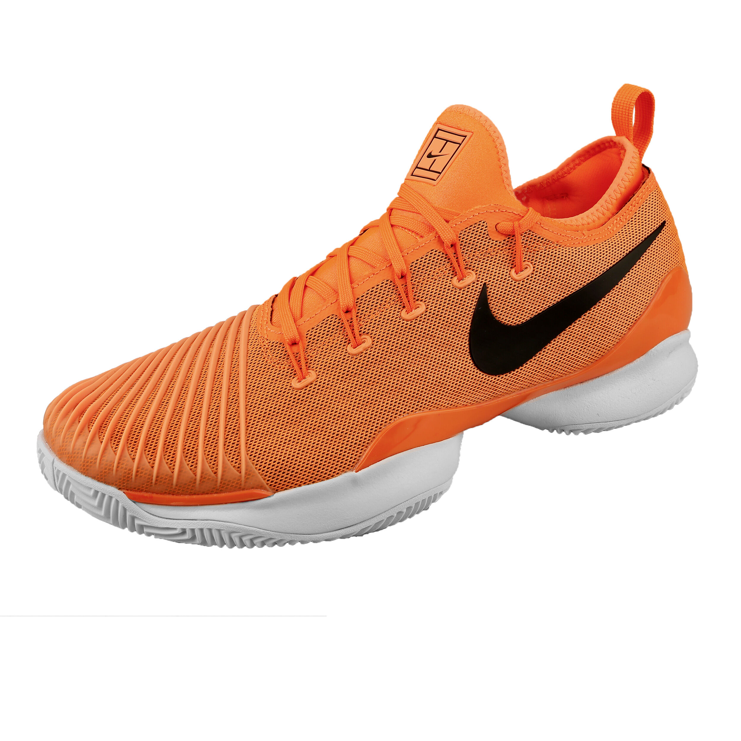 Nike Air Zoom Ultra React Chaussure Terre Battue Hommes Orange , Blanc