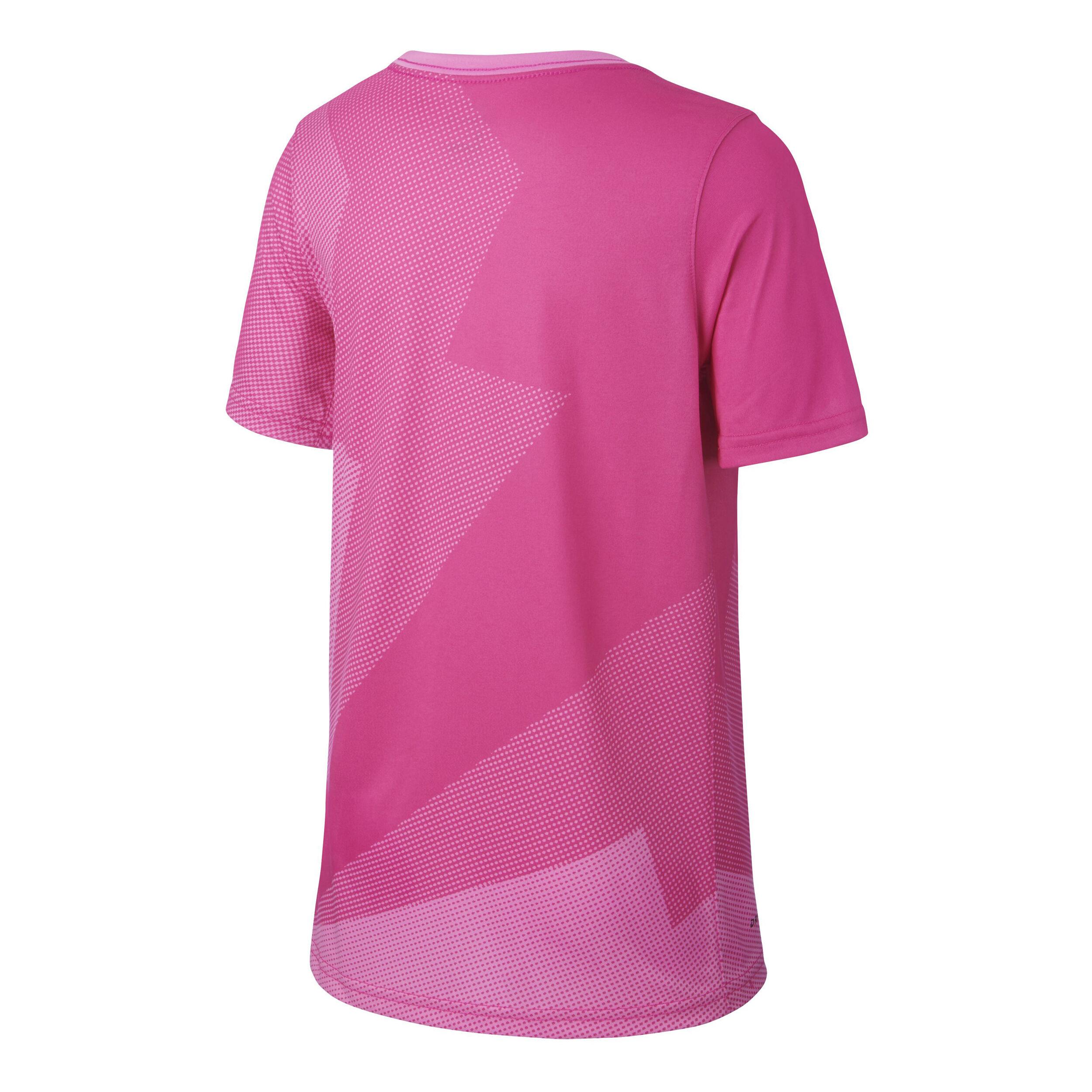 Pinkgris Garçons Court Shirt N0wypnm8ov Gx Foncé Rafael Nadal T Nike Aj54L3RScq