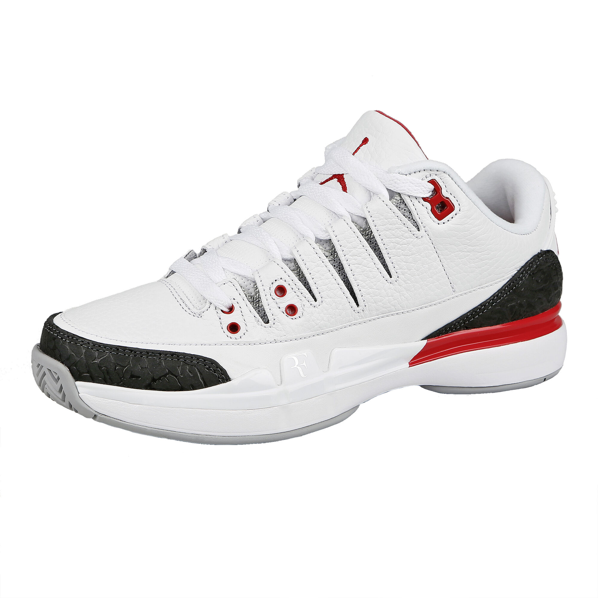 cheaper b9f44 595f2 Nike Roger Federer Zoom Vapor Air Jordan 3 Chaussure Tout Terrain Hommes -  Blanc , Noir
