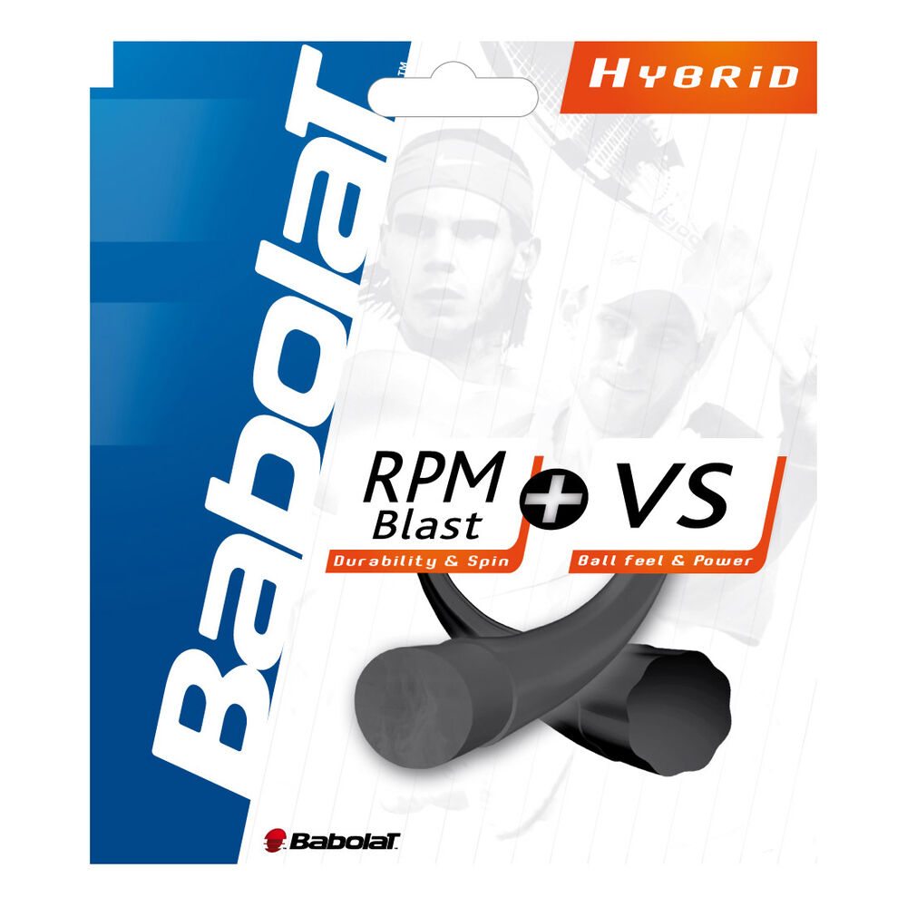 RPM Blast + VS Hybridsaite Cordage En Set 12m