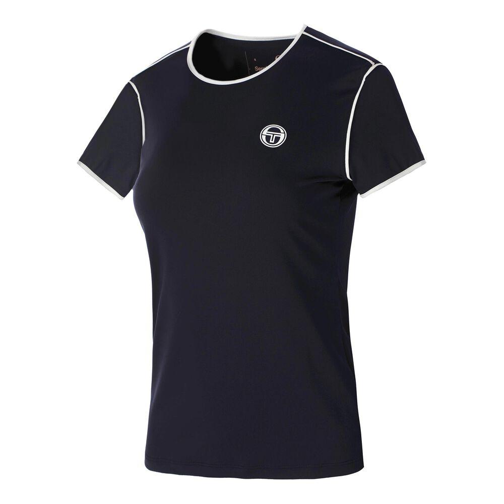Sergio Tacchini T-Shirt T-shirt Femmes - Bleu Foncé , Blanc