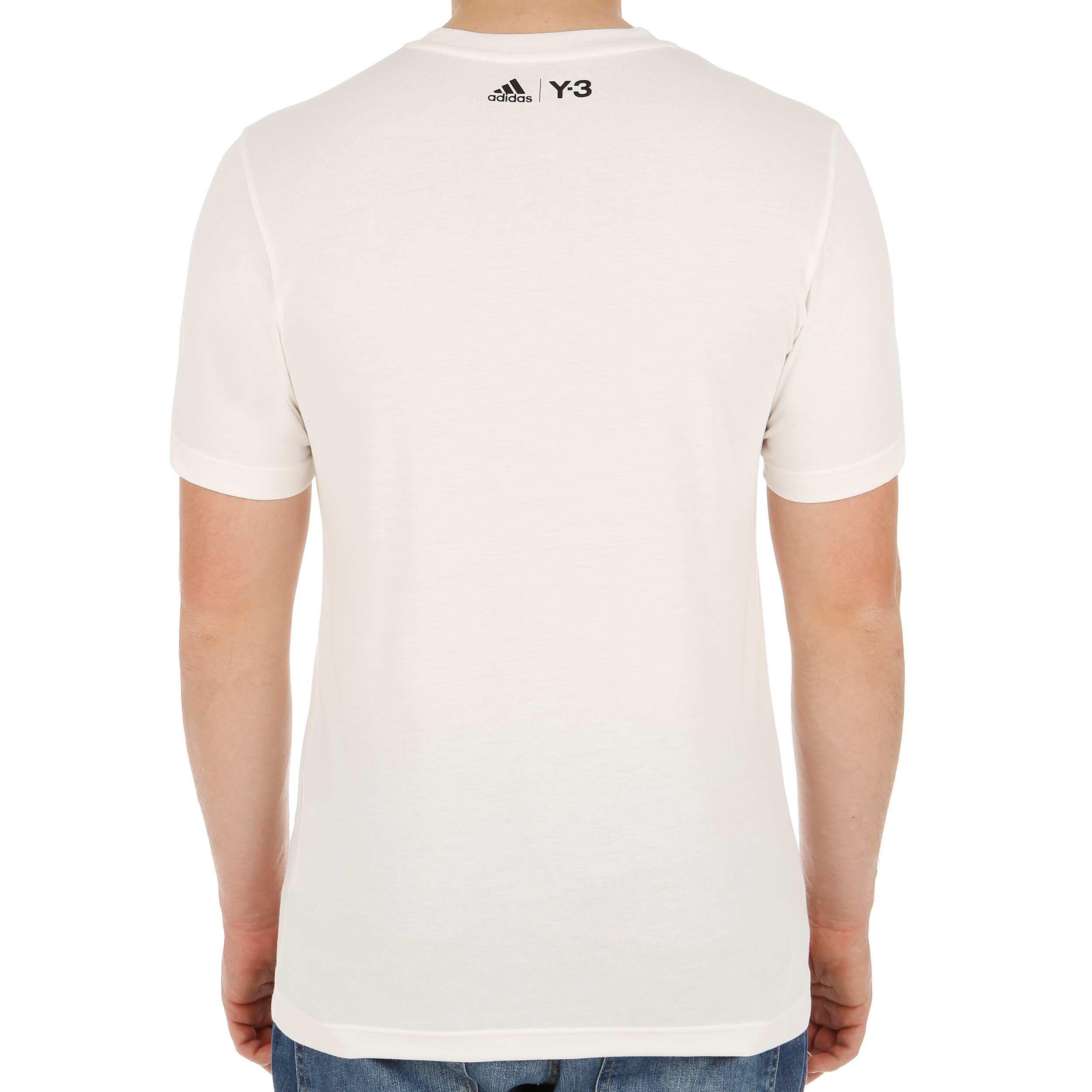 adidas Roland Garros Y 3 Event T shirt Hommes Blanc