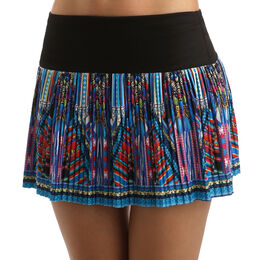 Empire Pleated Long Skirt Women
