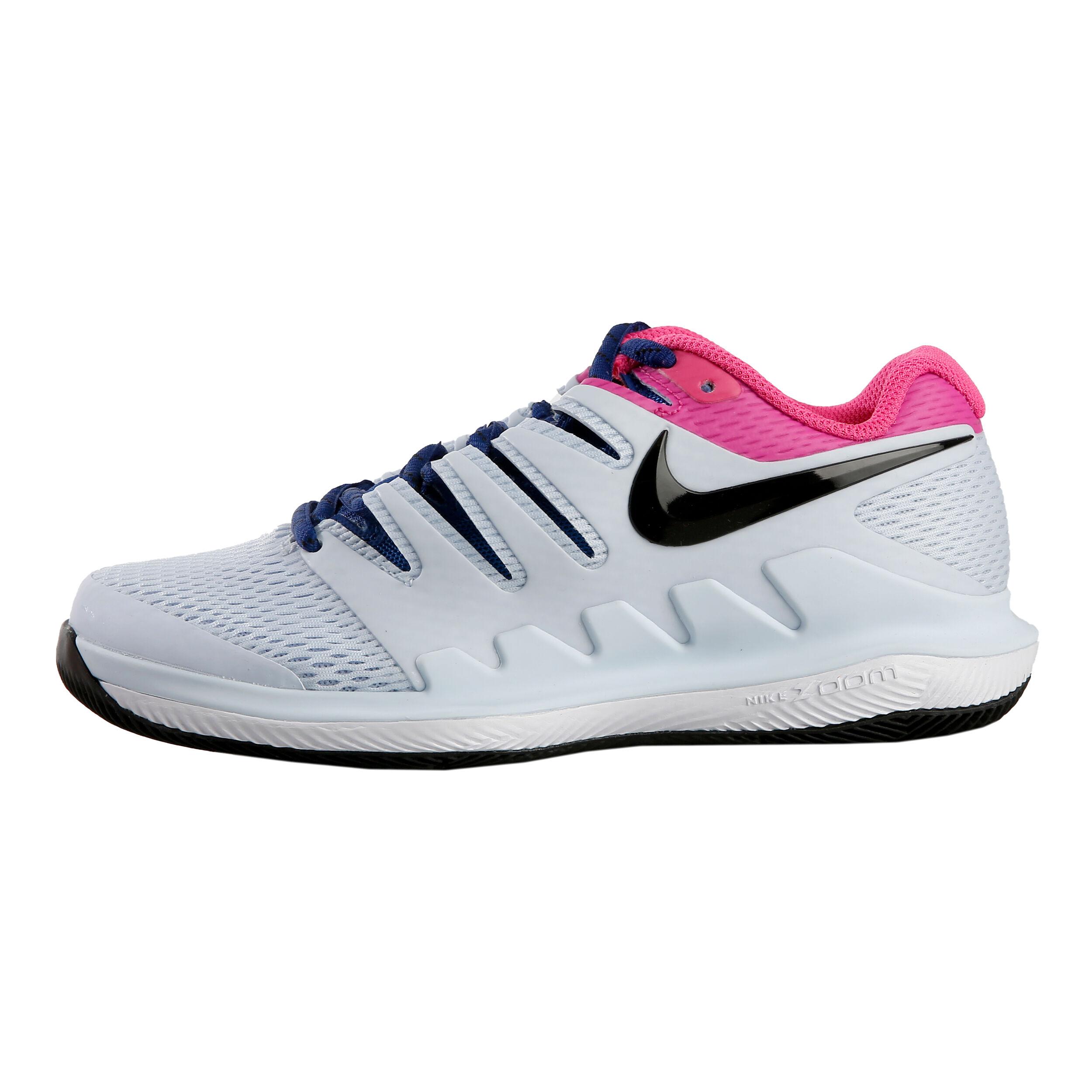 Bleu Tout Enfants Air X Nike Zoom Vapor Chaussure Clair Terrain TFK1Jul3c