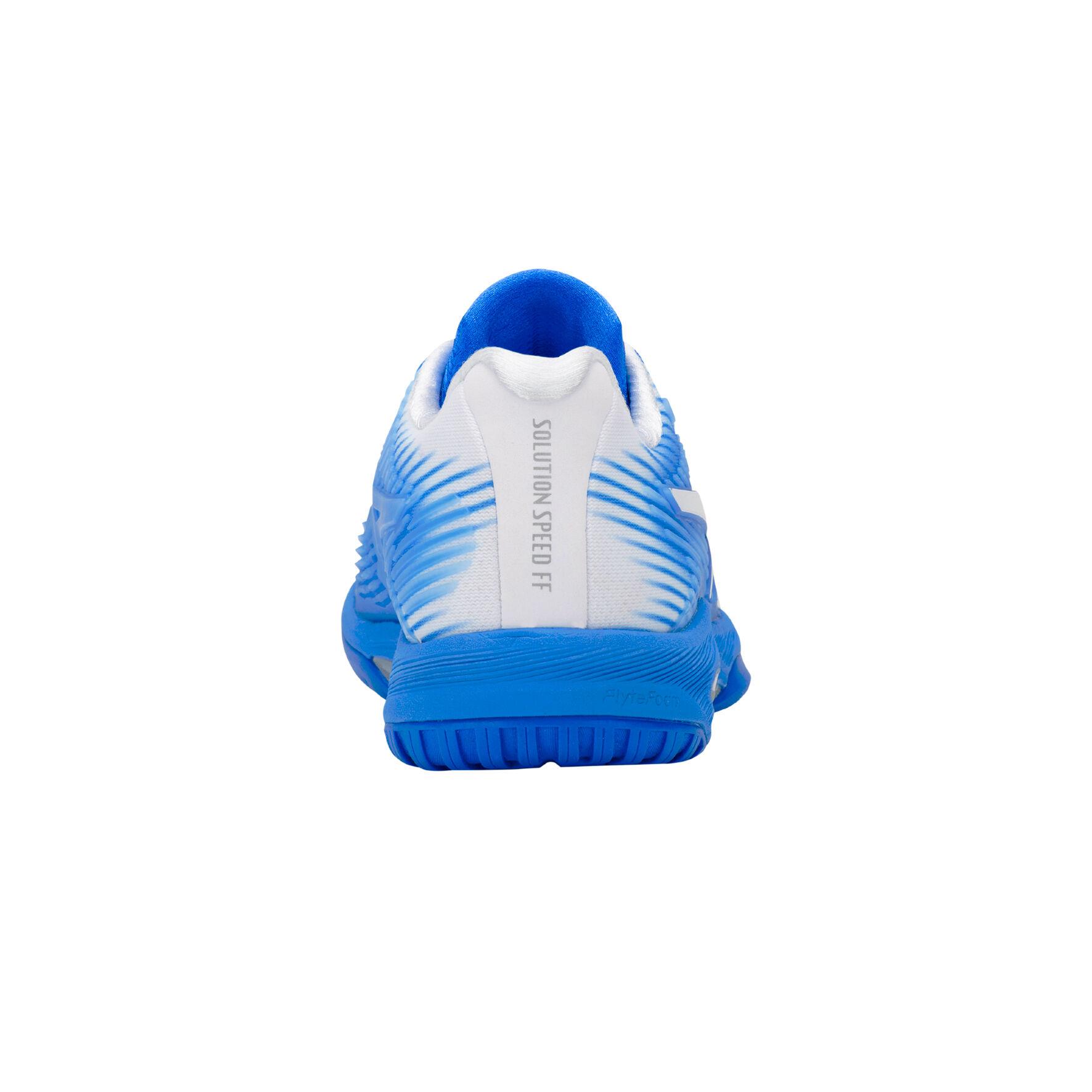 Asics Solution Speed FF Chaussure Tout Terrain Femmes Bleu