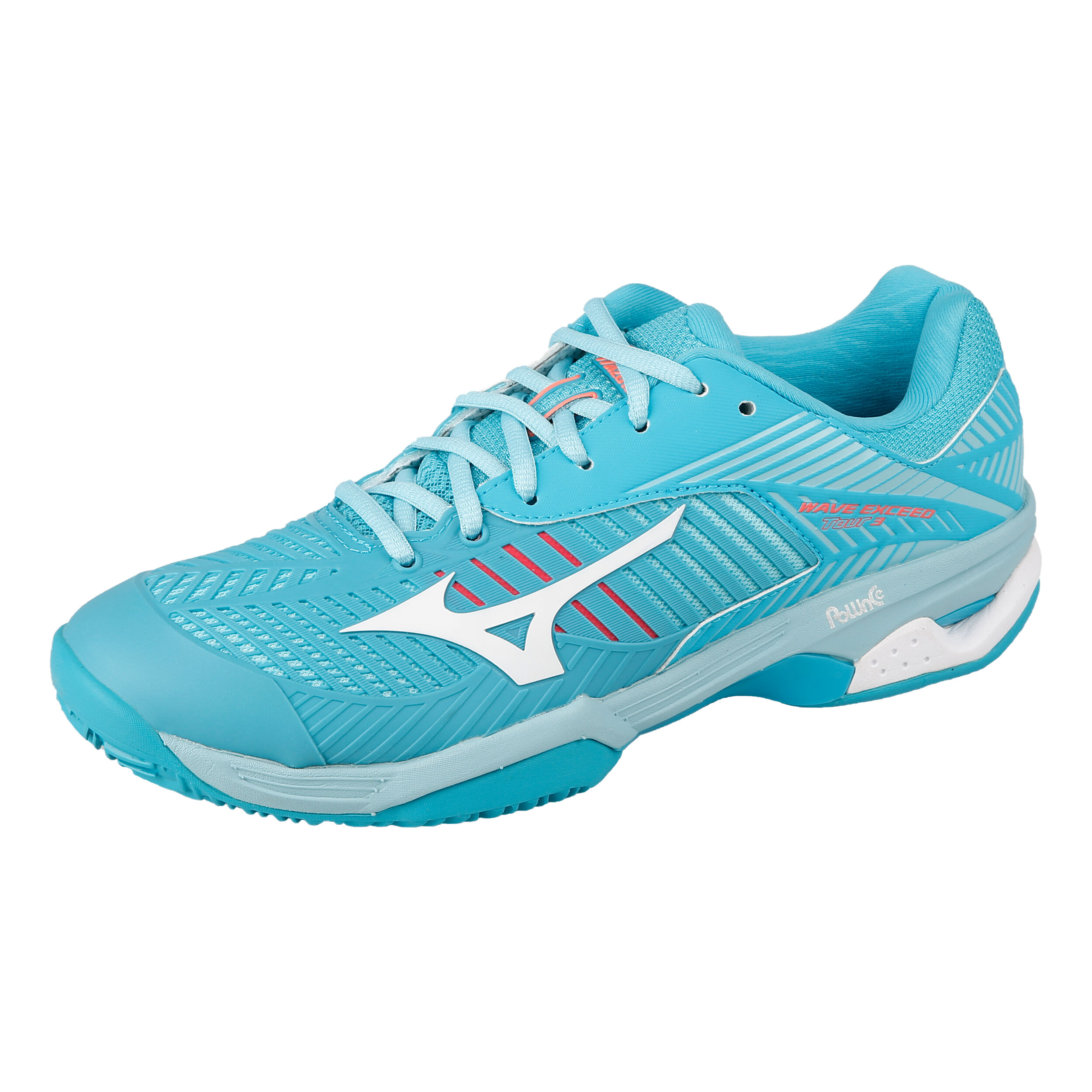 Terre Clay Chaussure Wave TurquoiseBl Femmes Battue Tour Exceed 3 FK1luJ3Tc5