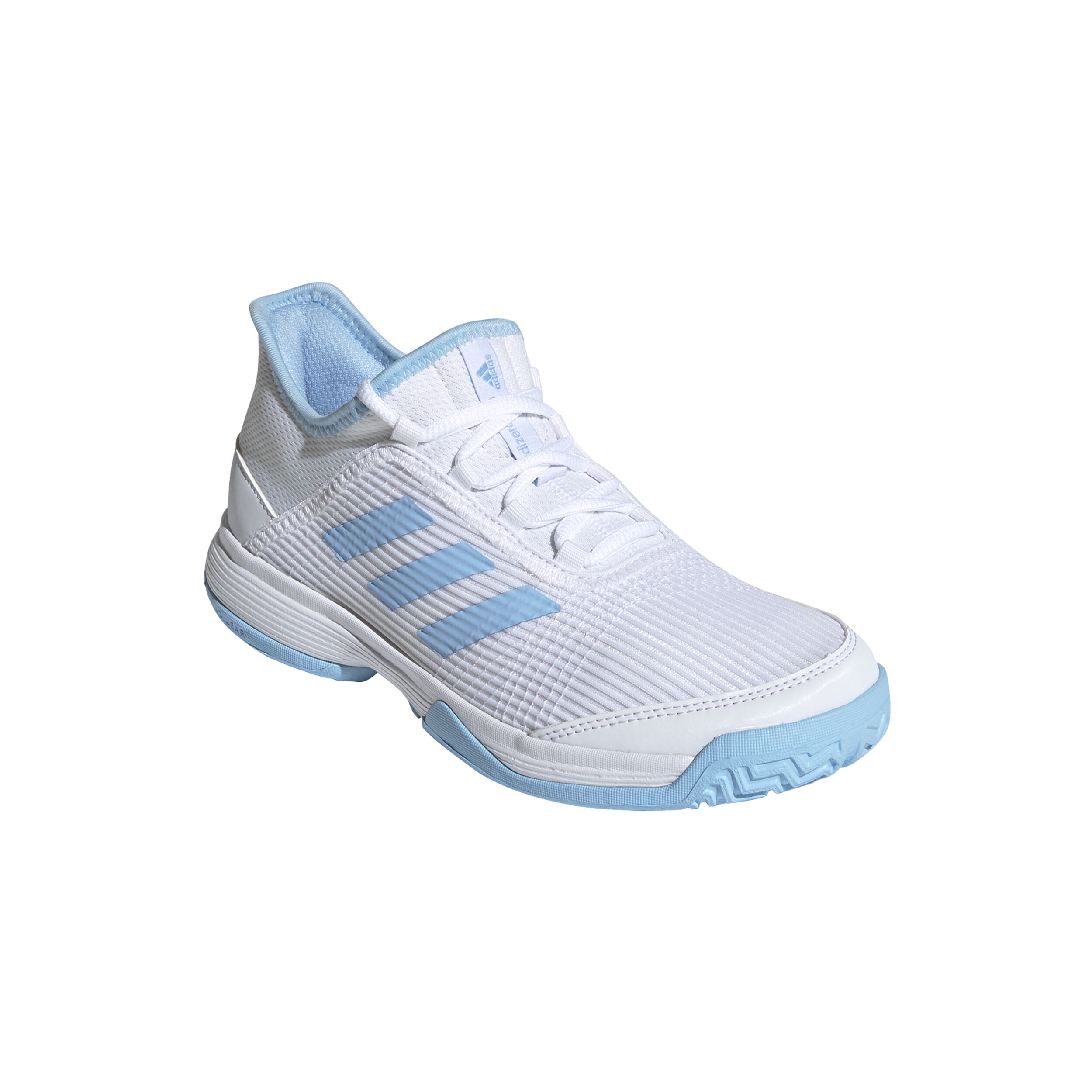Chaussures Junior adidas adizero Club K BlancBleu Tennis