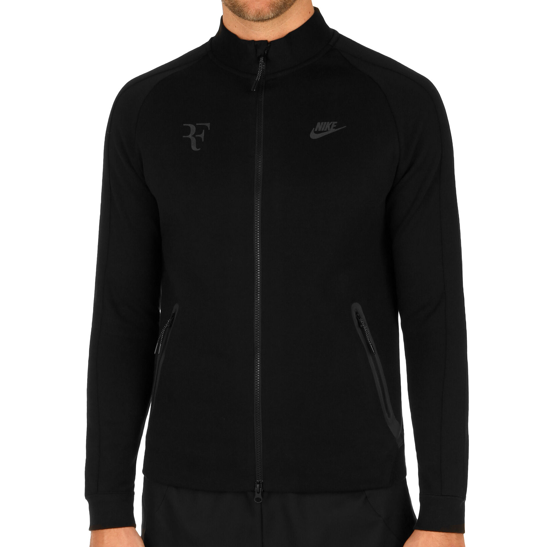 Nike Court Roger Federer Veste De Survêtement Hommes Noir